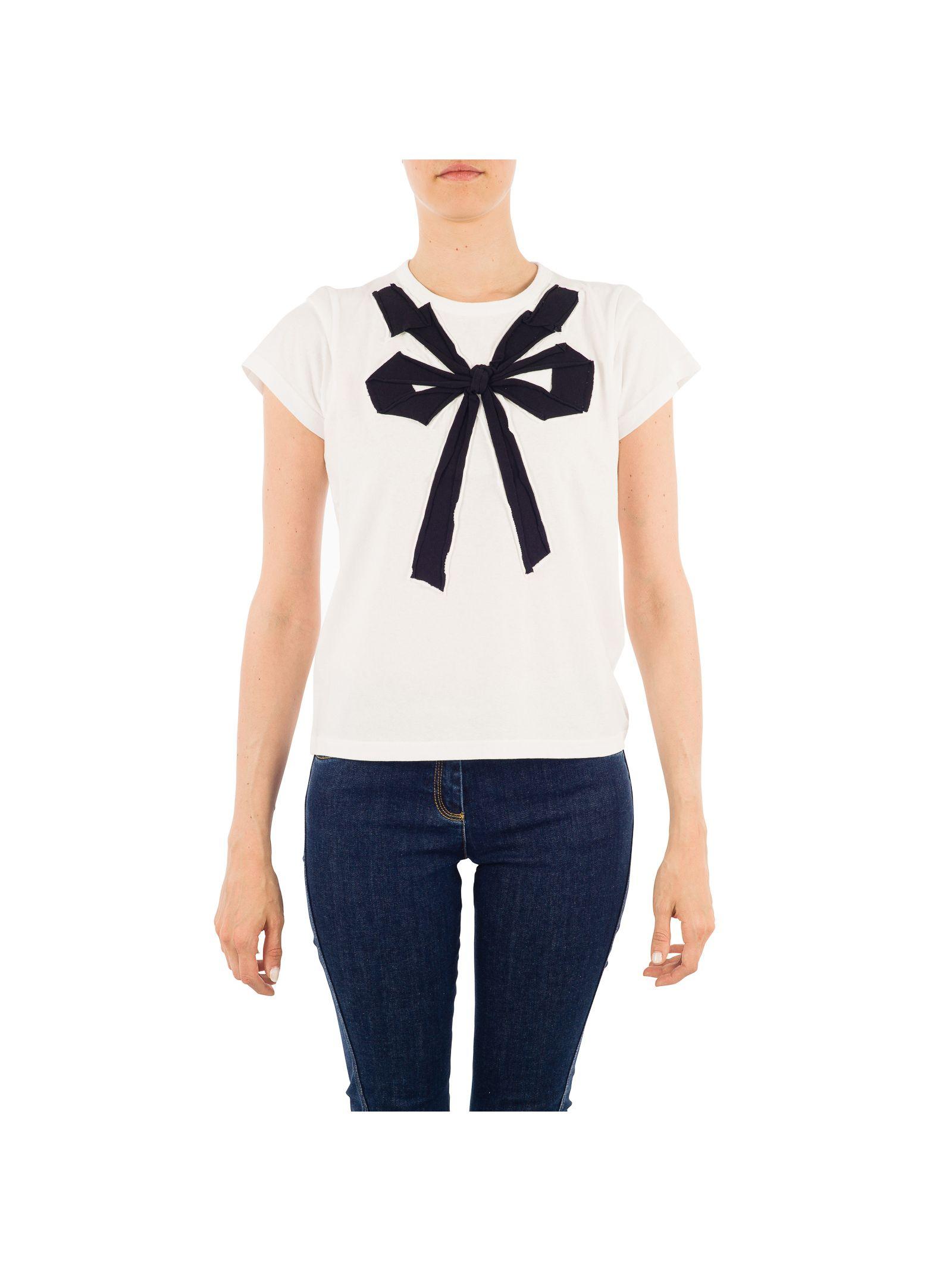 marc jacobs female marc jacobs white cotton tshirt