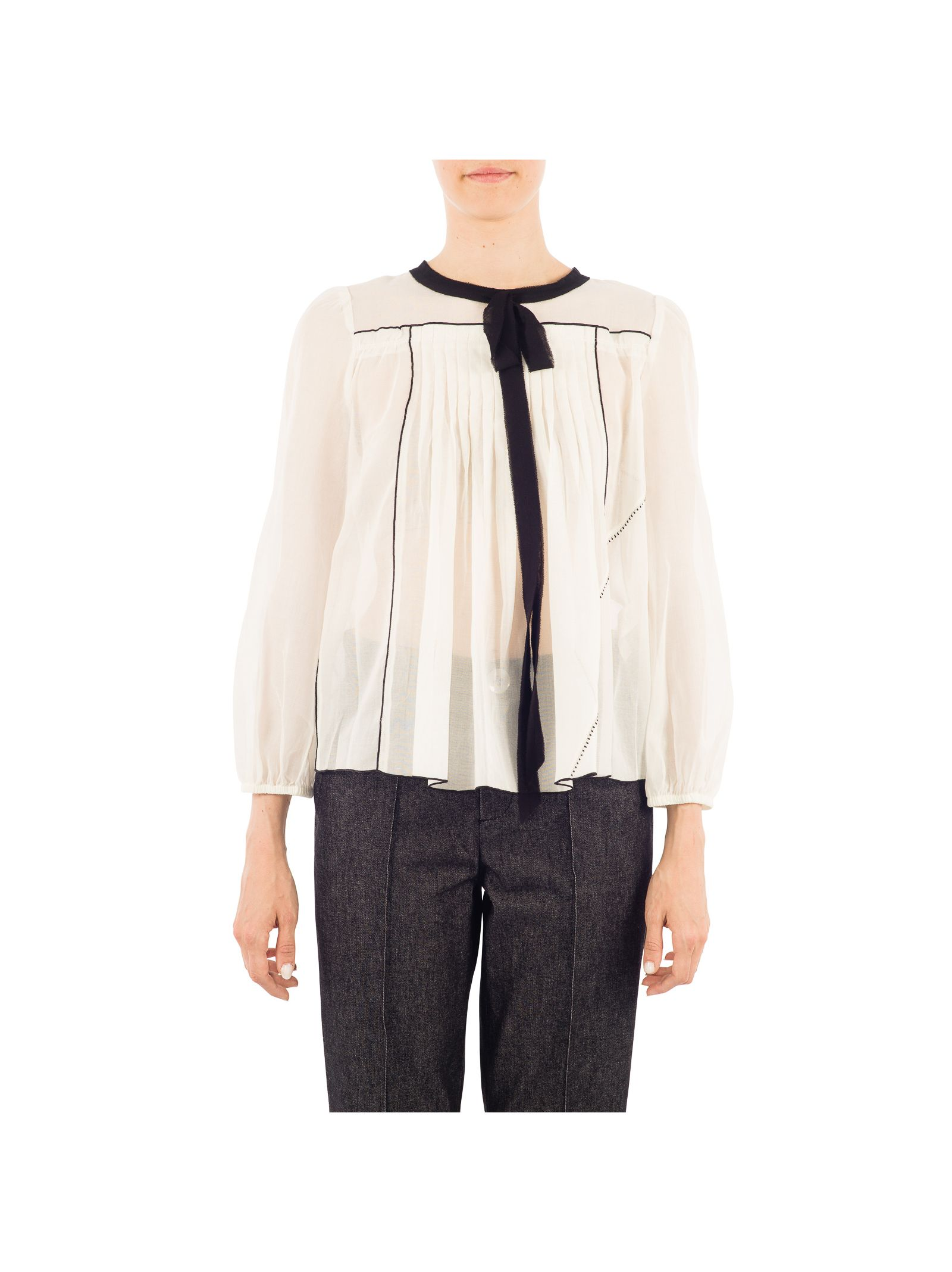 marc jacobs female 45883 marc jacobs white cotton shirt