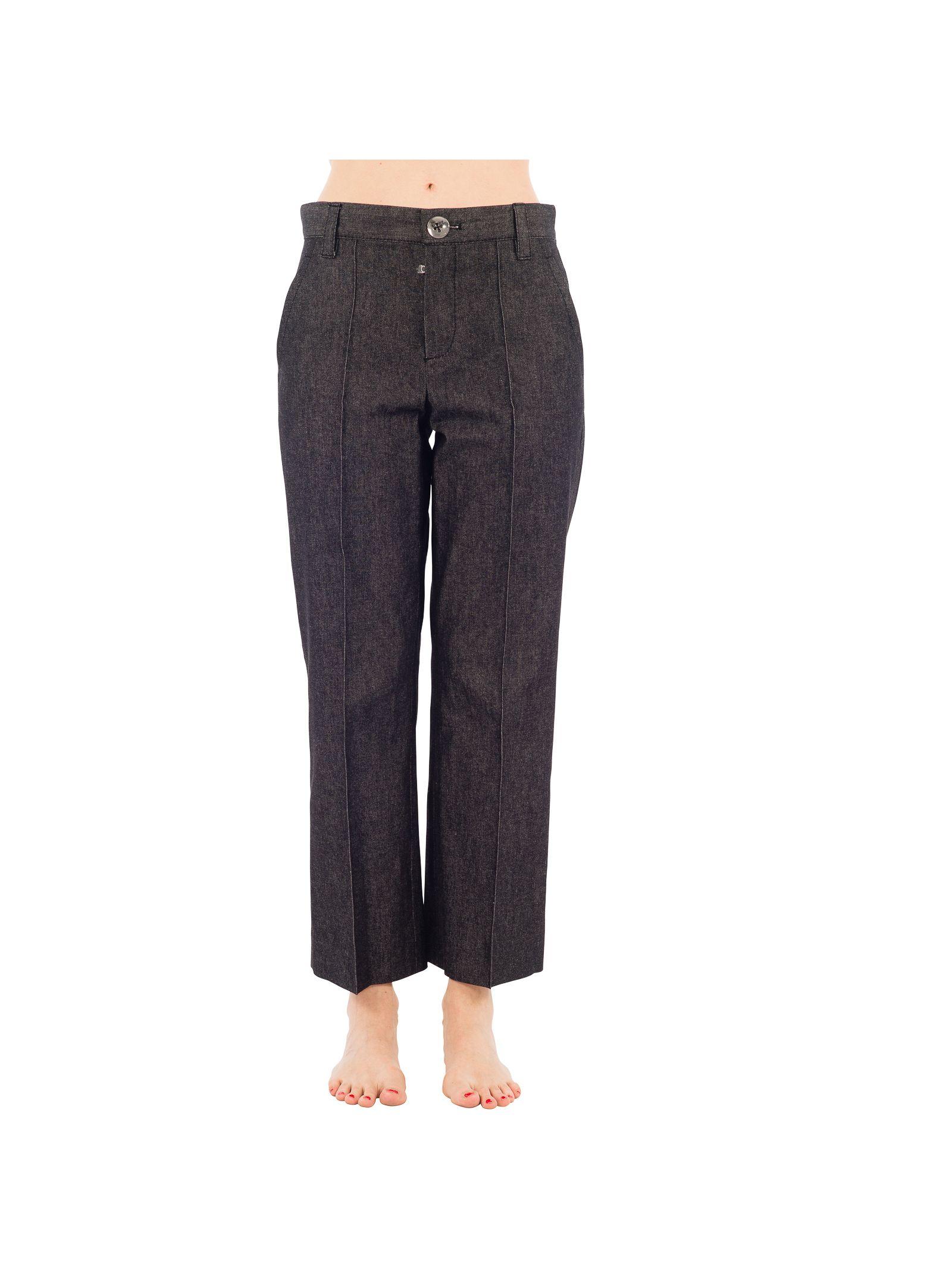marc jacobs female 45906 marc jacobs grey cotton jeans