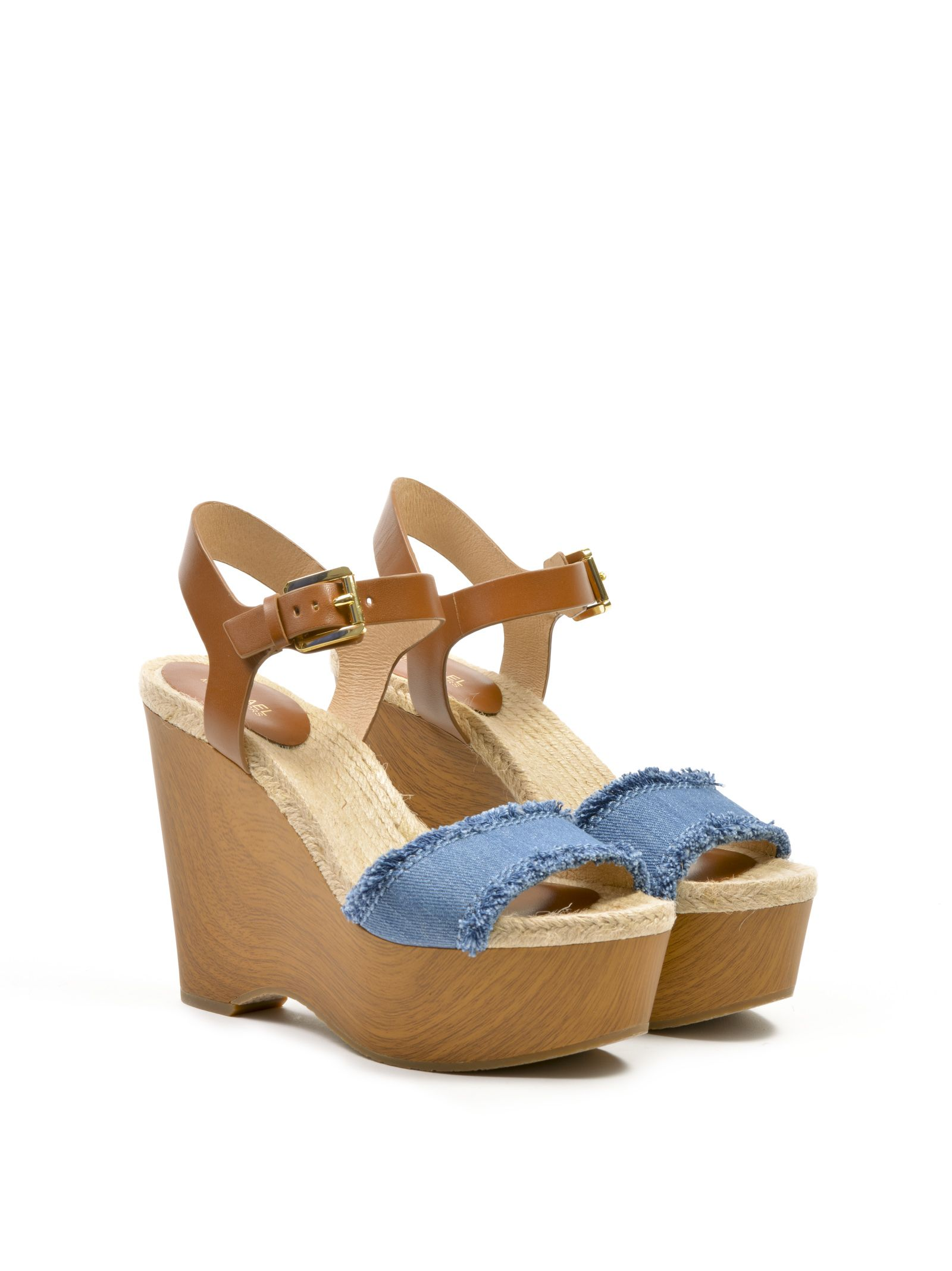 michael kors female  michael kors leni wedge sandals