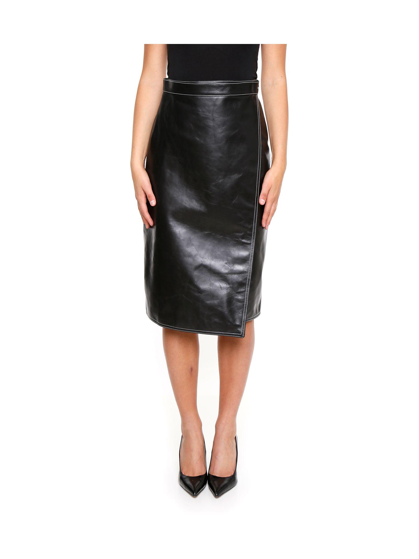 Leather Skirt - Balenciaga - Talent
