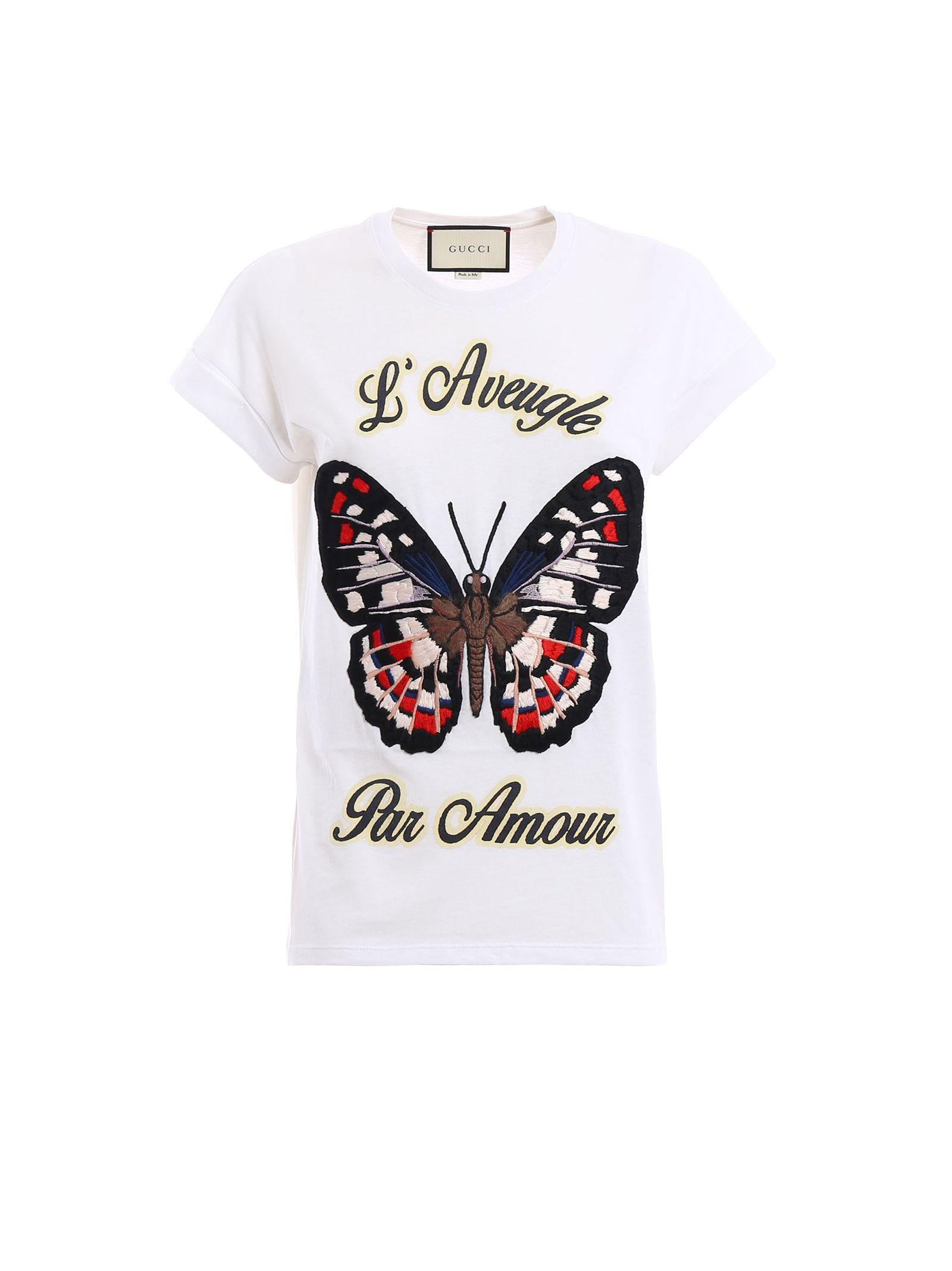 gucci female 45883 gucci cotton jersey tshirt