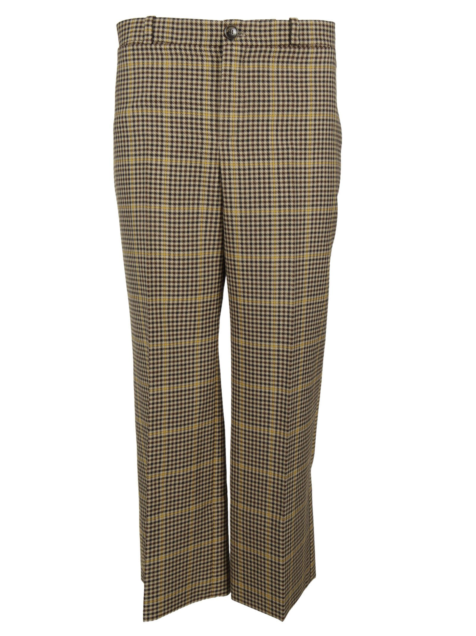 Balenciaga Checked Trousers - Balenciaga - Neri
