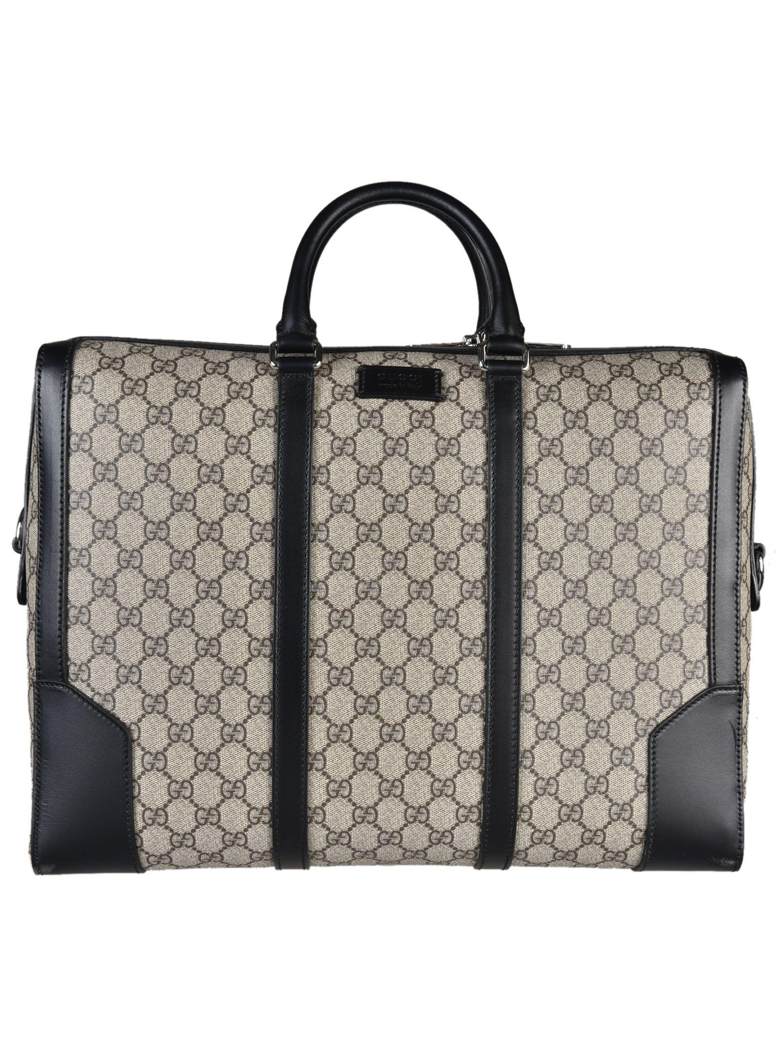 gucci male gucci gg supreme briefcase