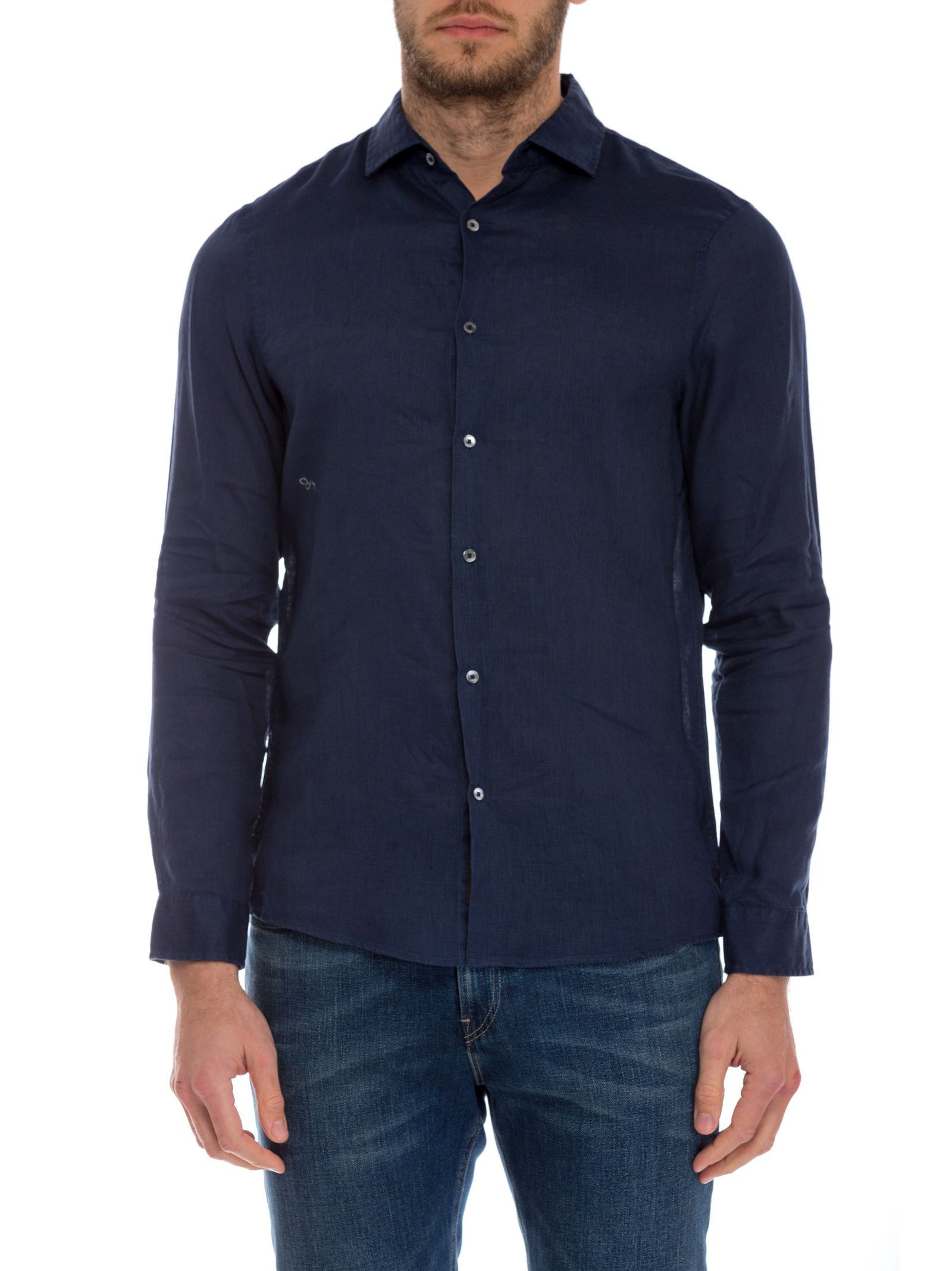 michael kors male 201920 michael kors classic button down shirt
