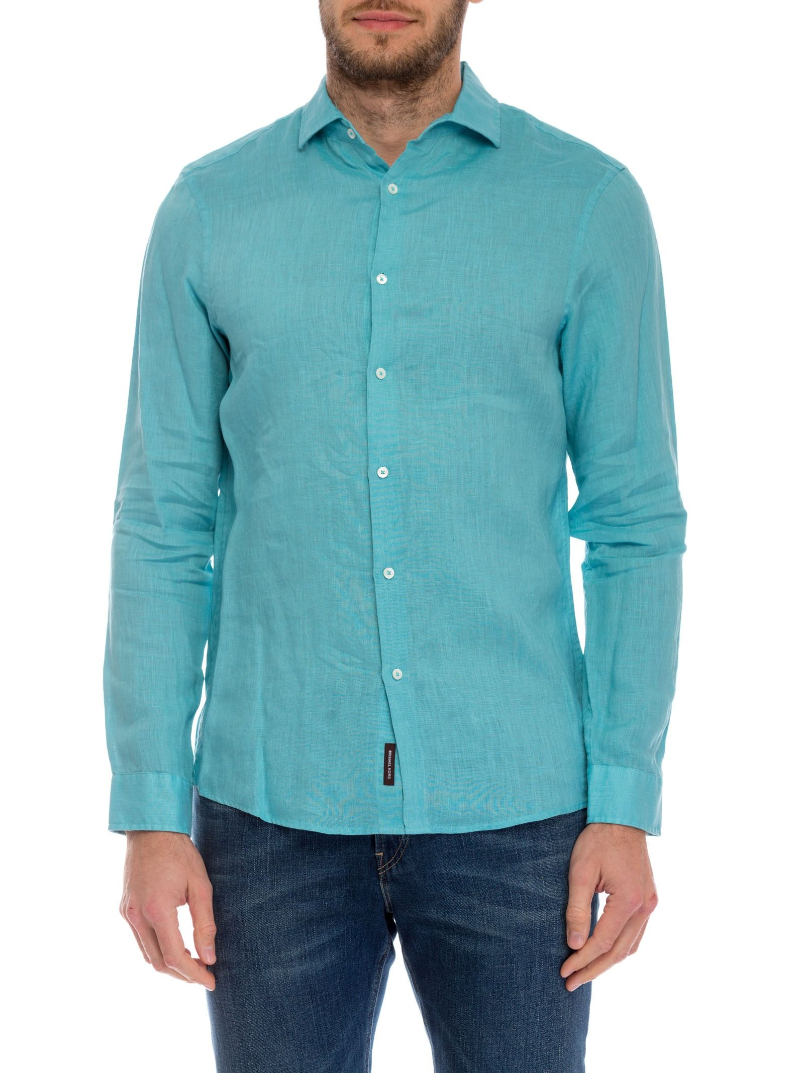 michael kors male 201959 michael kors classic button down shirt