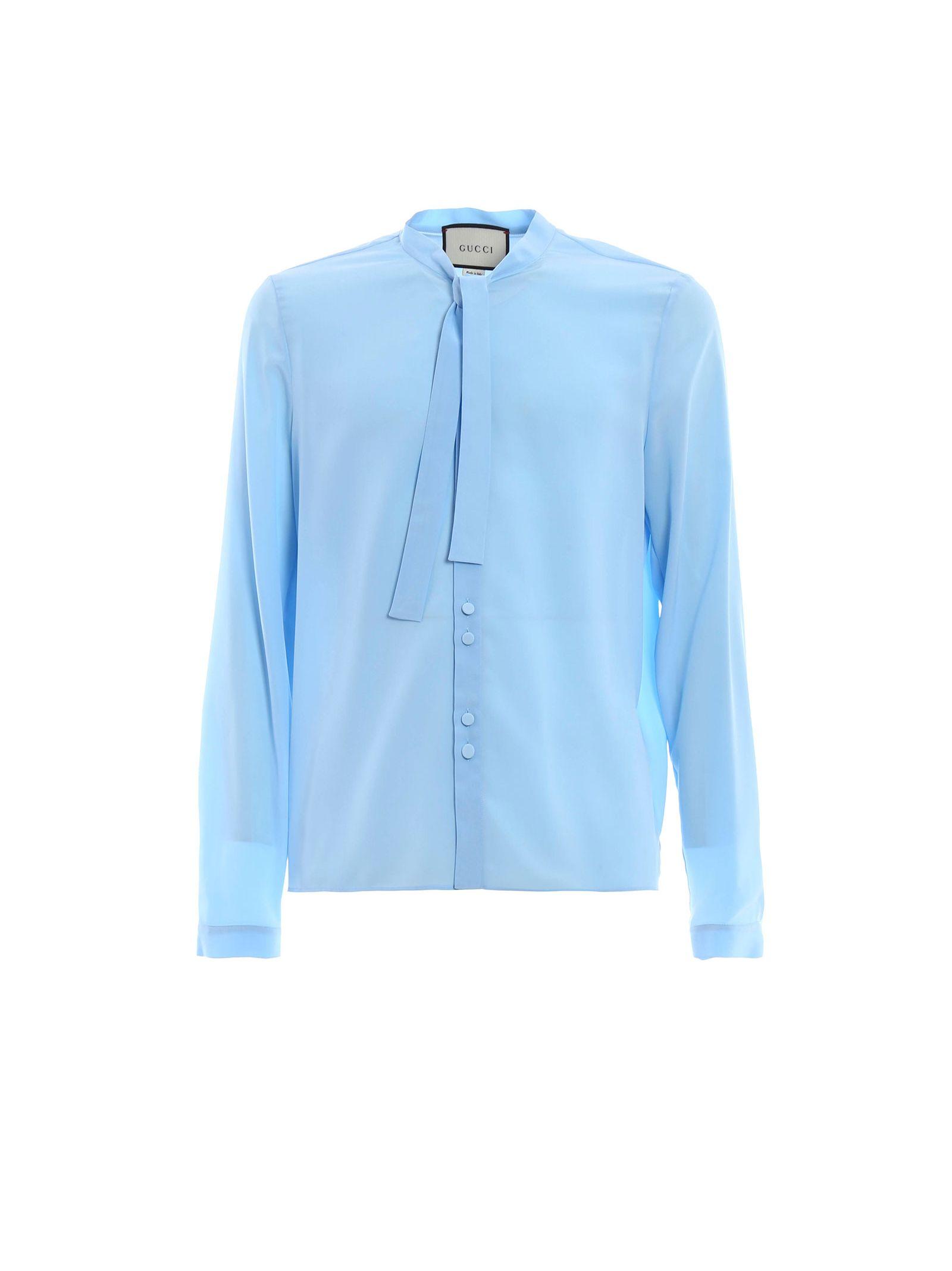 gucci male  gucci iconic silk shirt