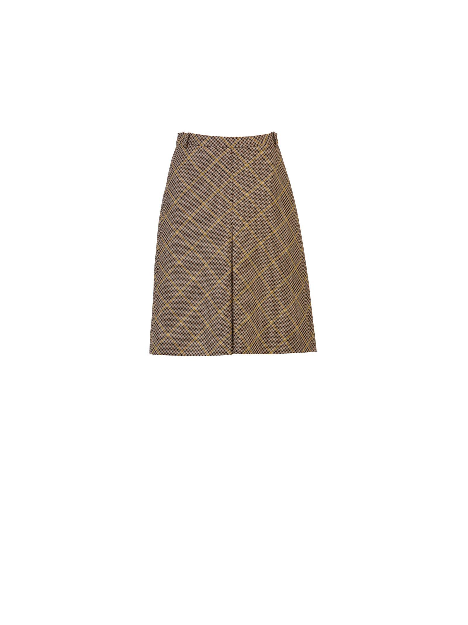 Balenciaga Check Skirt - Balenciaga - Axa 3