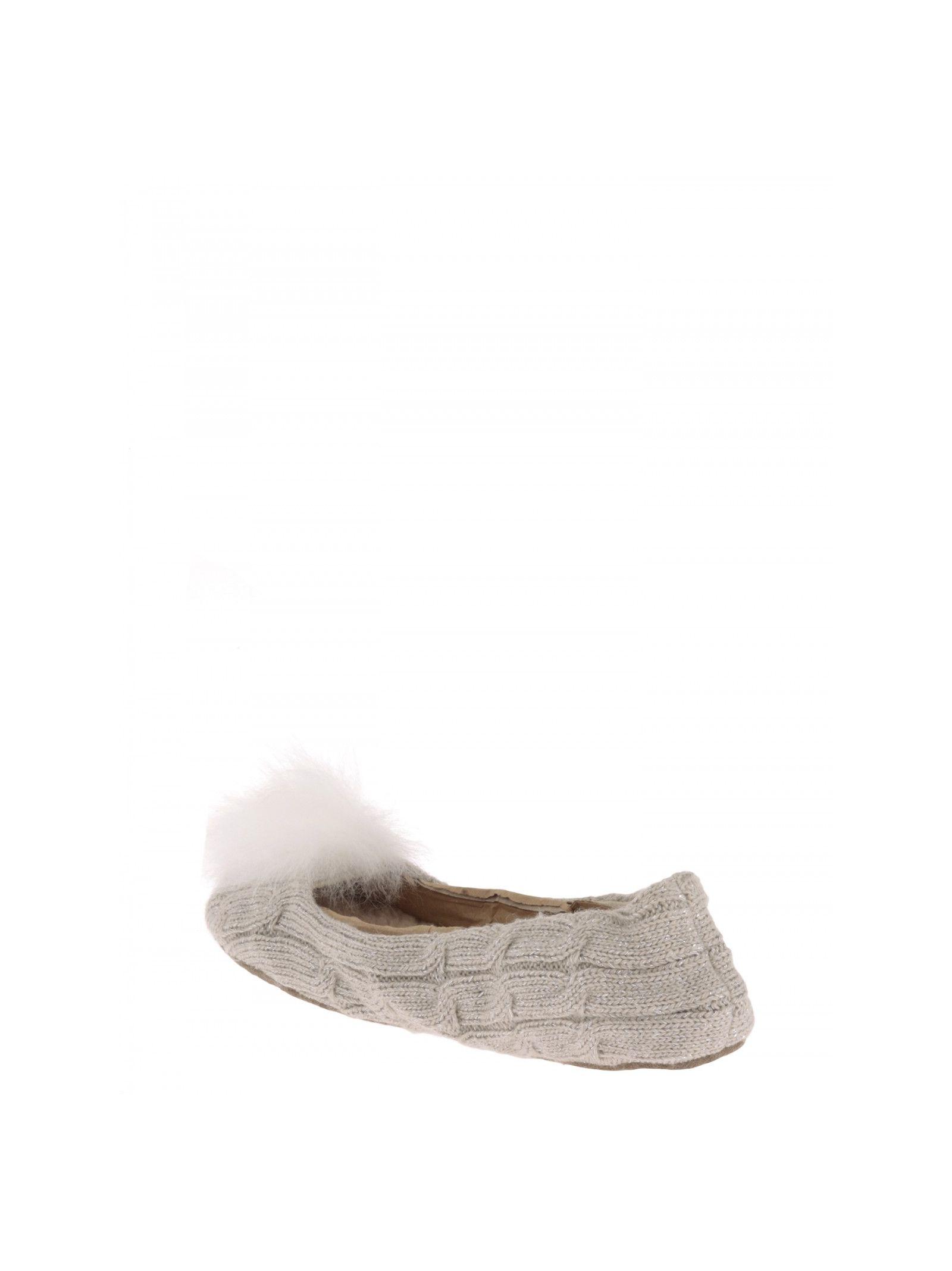 f2c17f37047c ... UGG Wool Ballet Flats - BEIGE ...