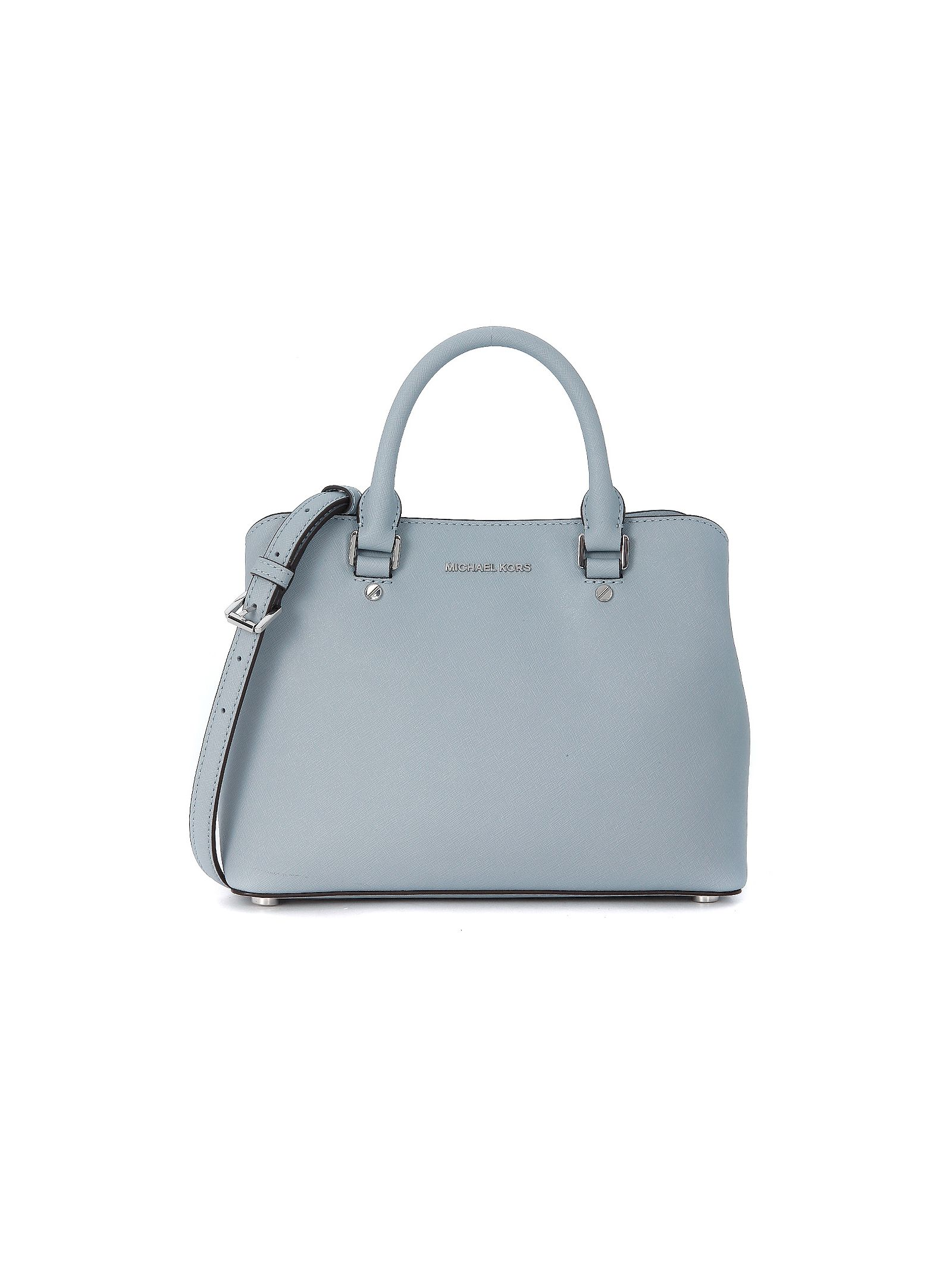 michael kors female  michael kors savannah bag in robinsegg light blue
