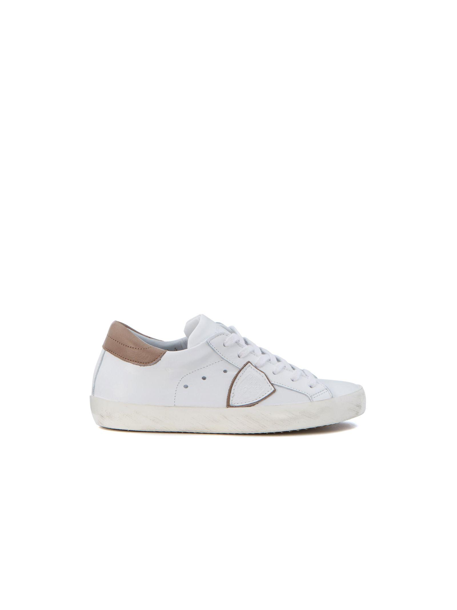 Pantofi sport de damă PHILIPPE MODEL Pelle Bianca