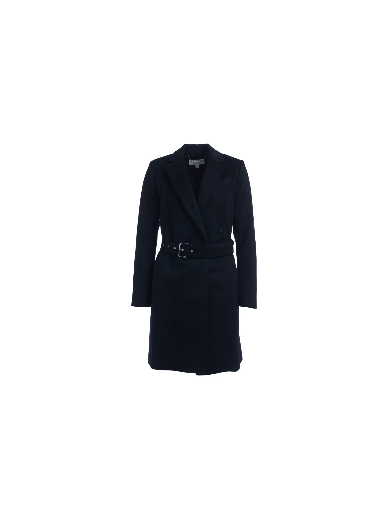 michael kors female  michael kors black trench