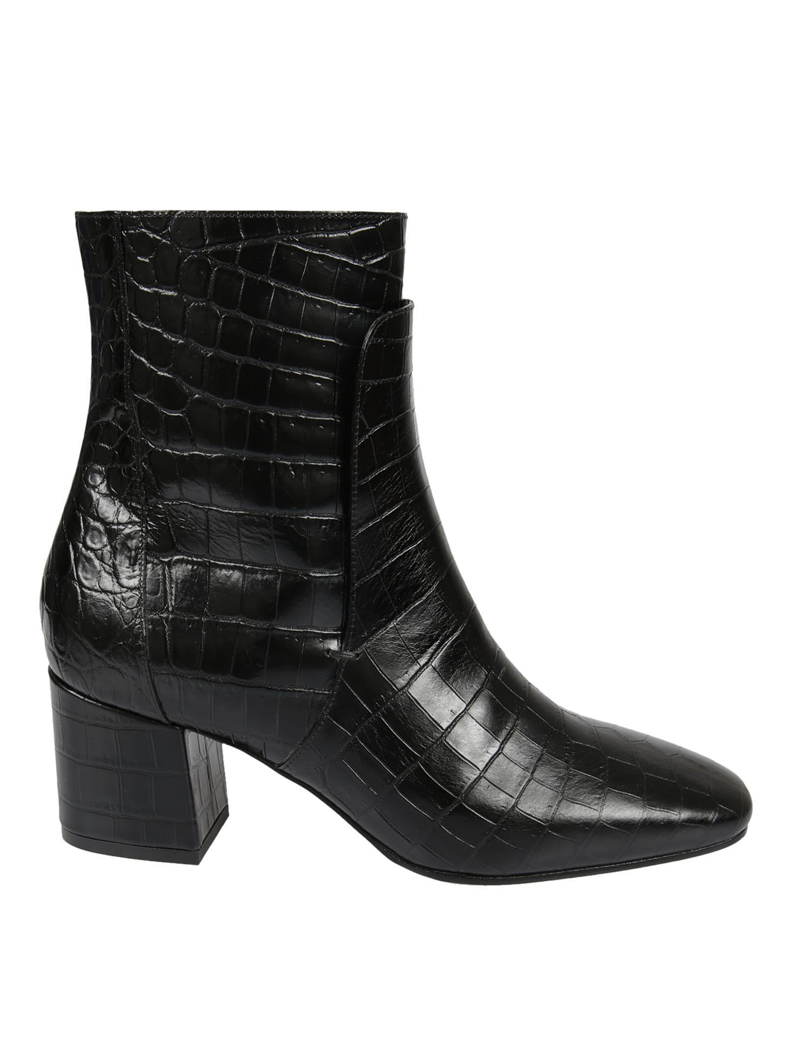 Givenchy Crocodile Effect Ankle Boots - Givenchy - Lulu