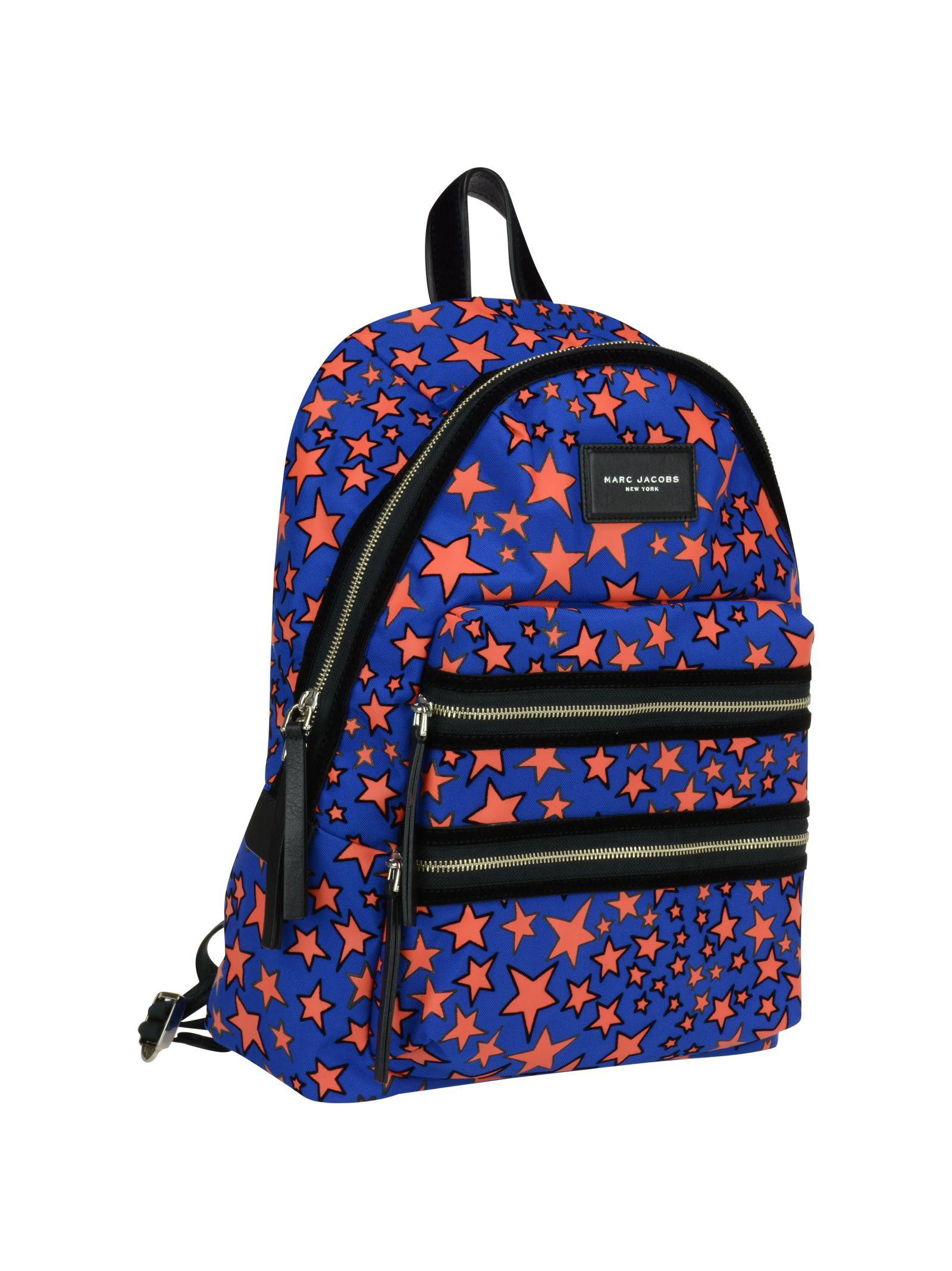 marc jacobs female 201920 marc jacobs flocked stars backpack
