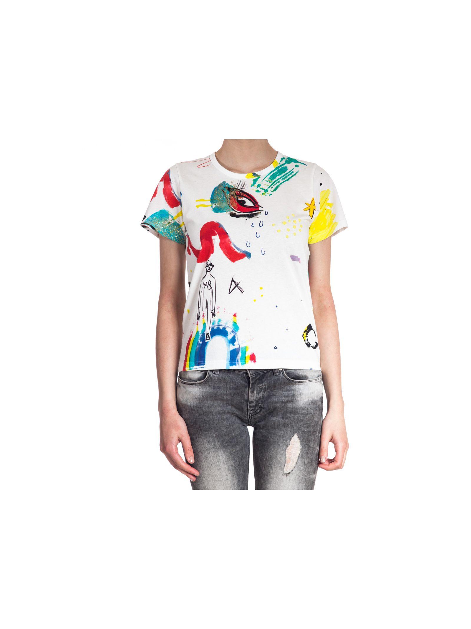marc jacobs female marc jacobs collage print tshirt