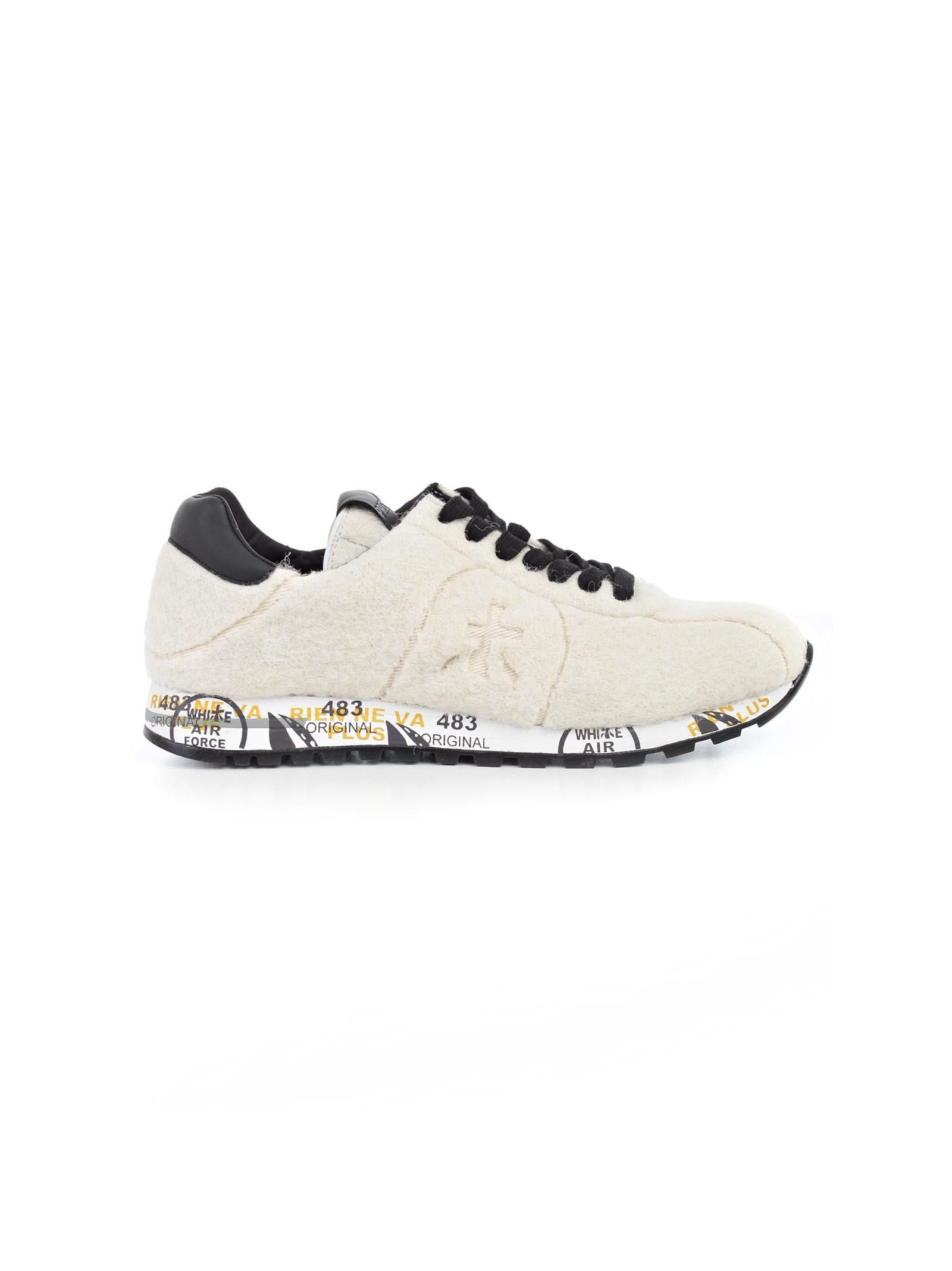 White Premiata Shoes - White Premiata - Bread 3