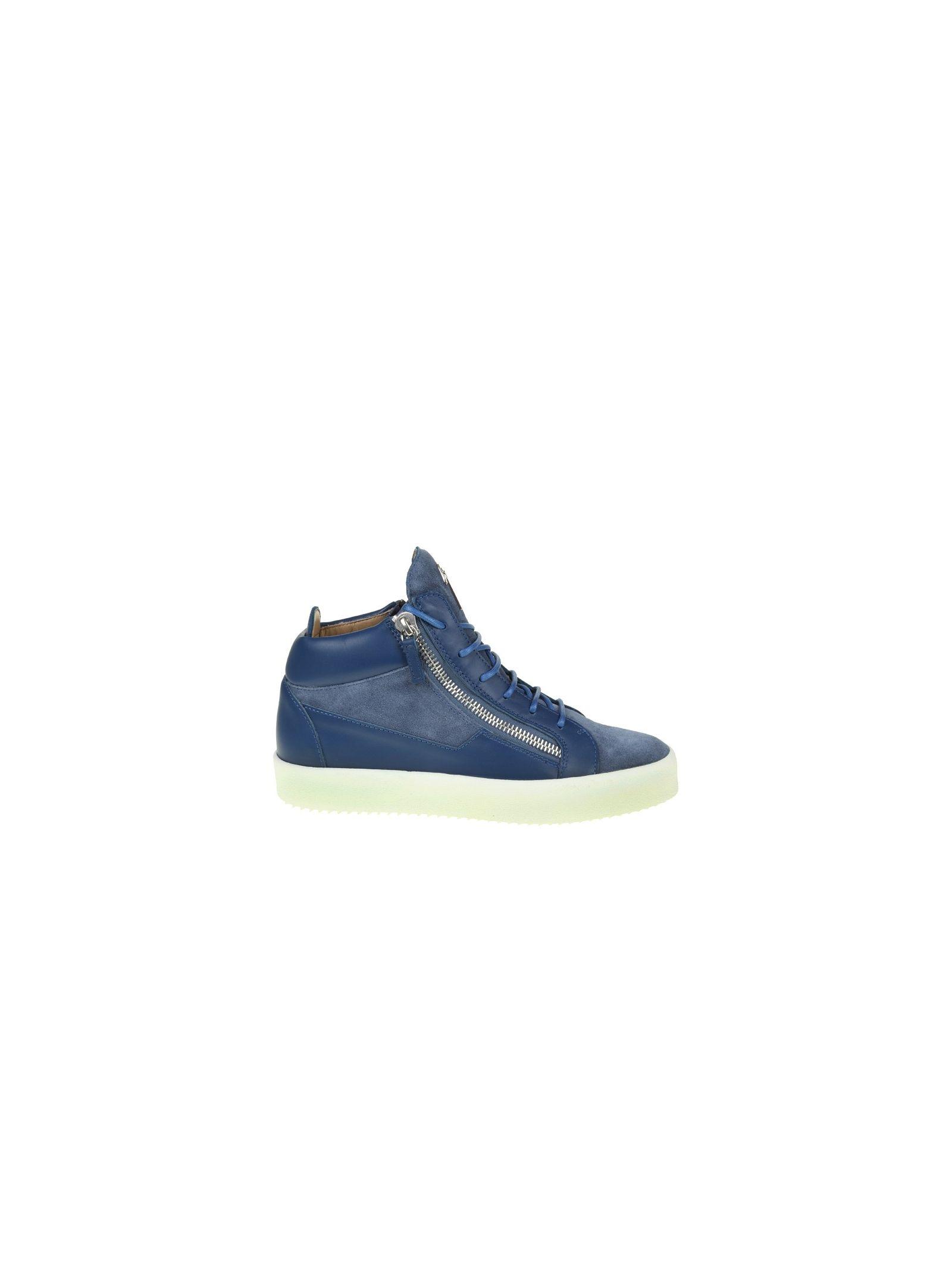 Giuseppe Zanotti Sneakers Blu Avio