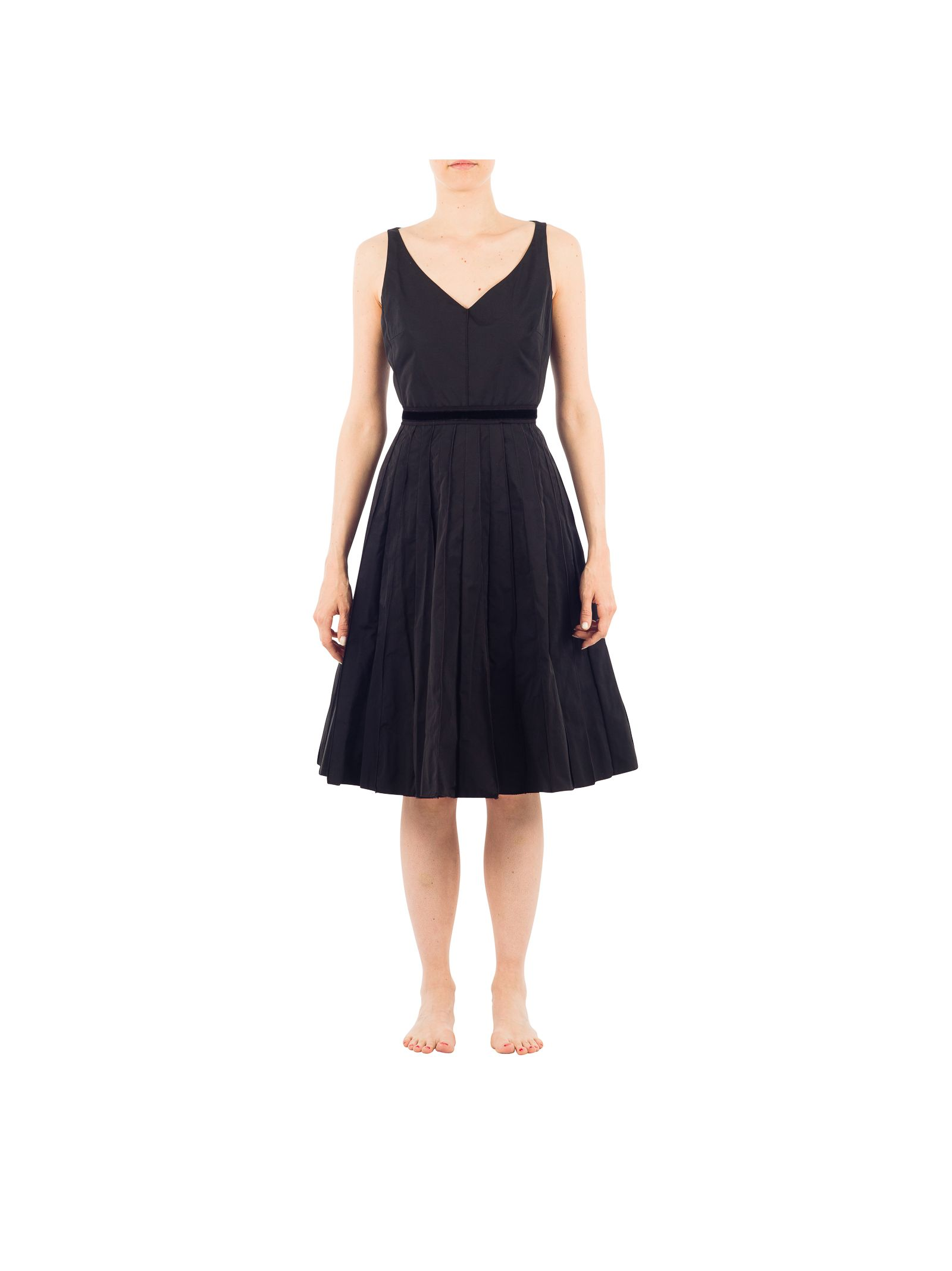 marc jacobs female 188971 marc jacobs black polyester dress