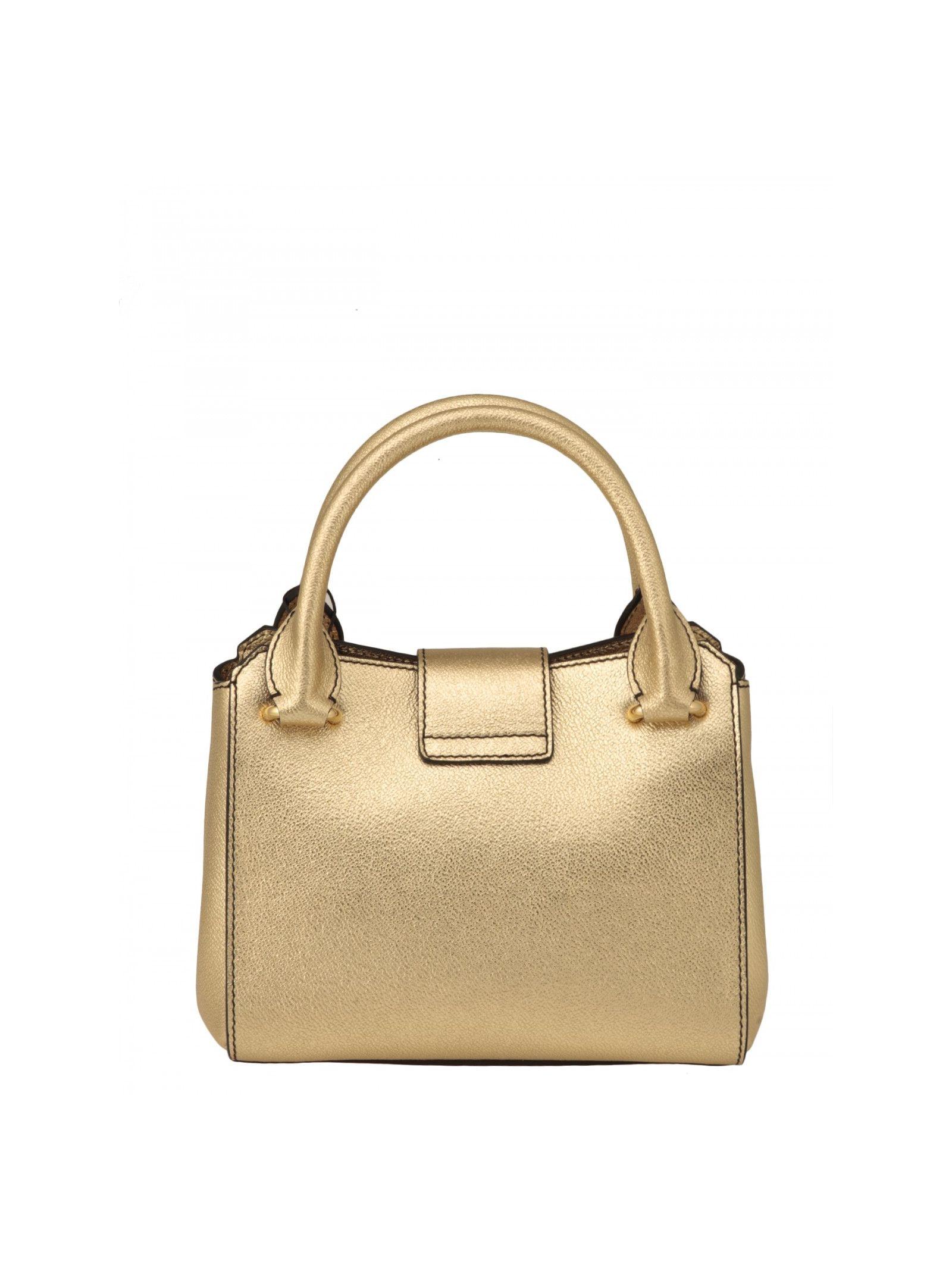 b6a5e8bf0351 Burberry Burberry Metallic Leather Bag - GOLD - 5492360