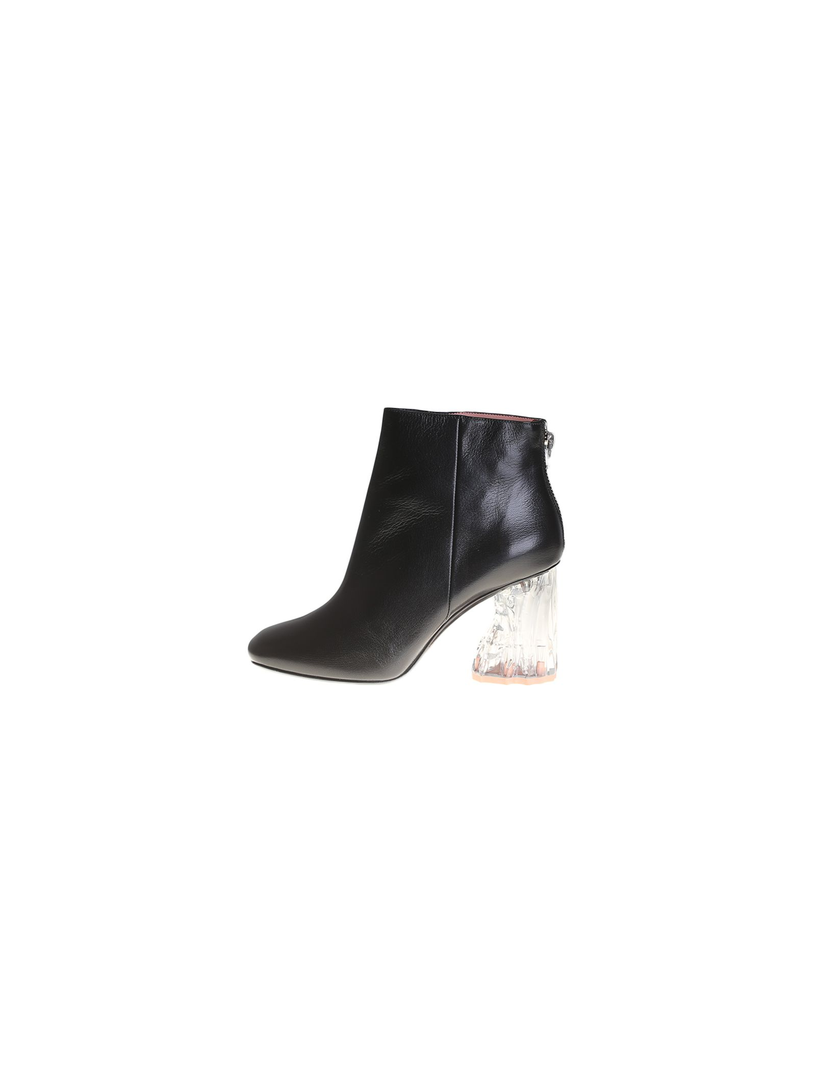Black Ora Glass Ankle Boots - Acne Studios - Stan