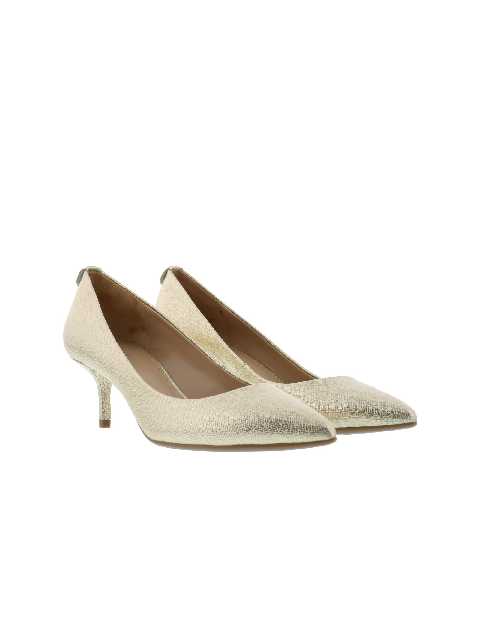 michael kors female michael kors kitten mid pumps