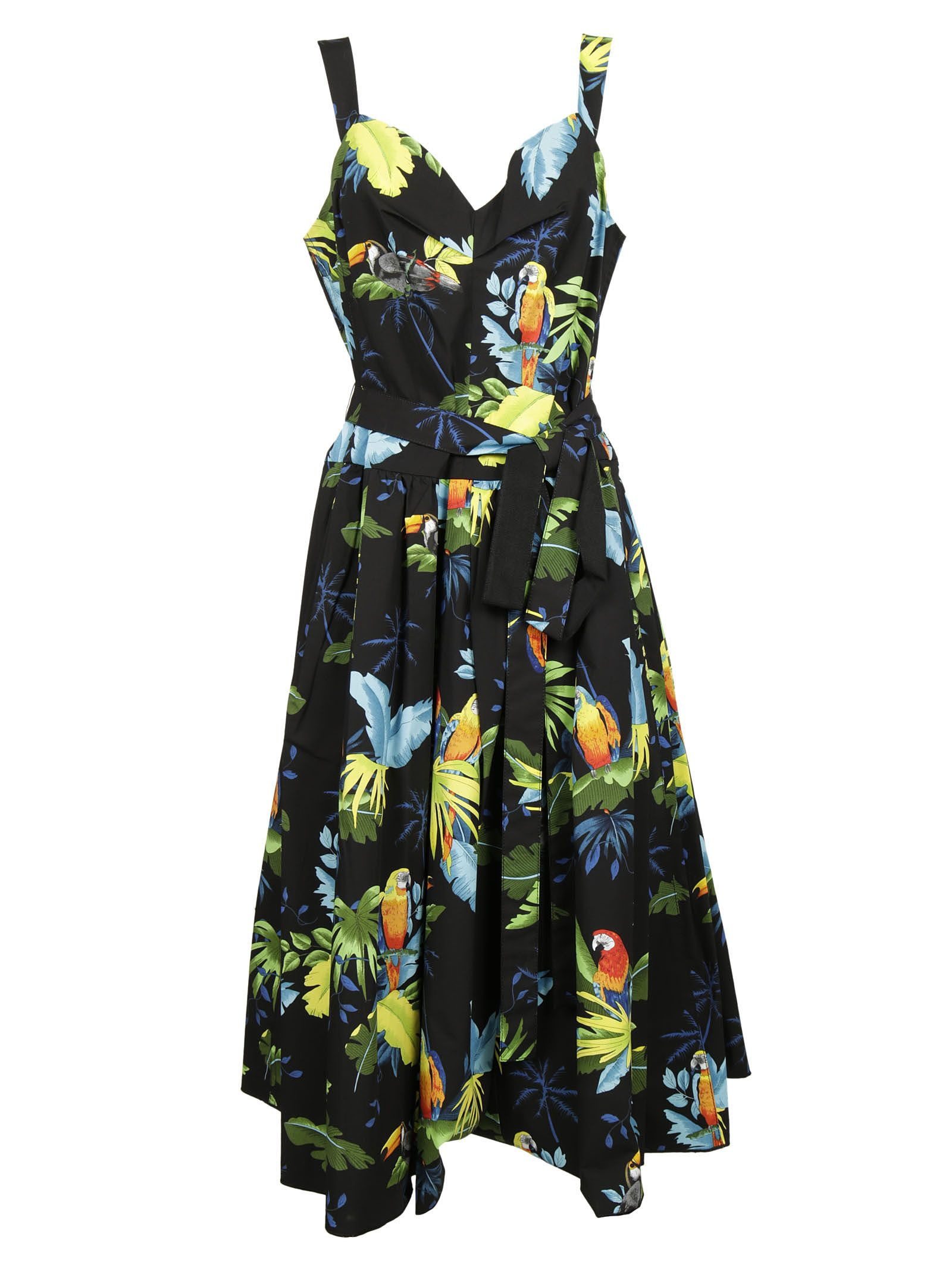 marc jacobs female marc jacobs tropical print dress