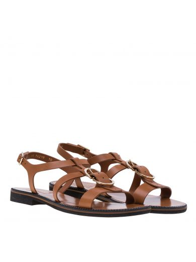 SALVATORE FERRAGAMO Salvatore Ferragamo Double Gancio Sandals