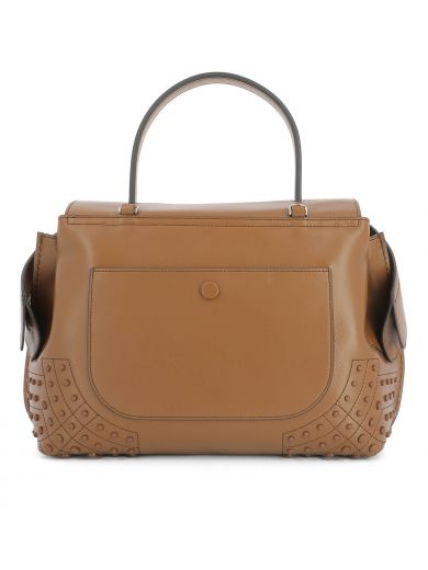 TOD'S Brown Leather Handle Bag