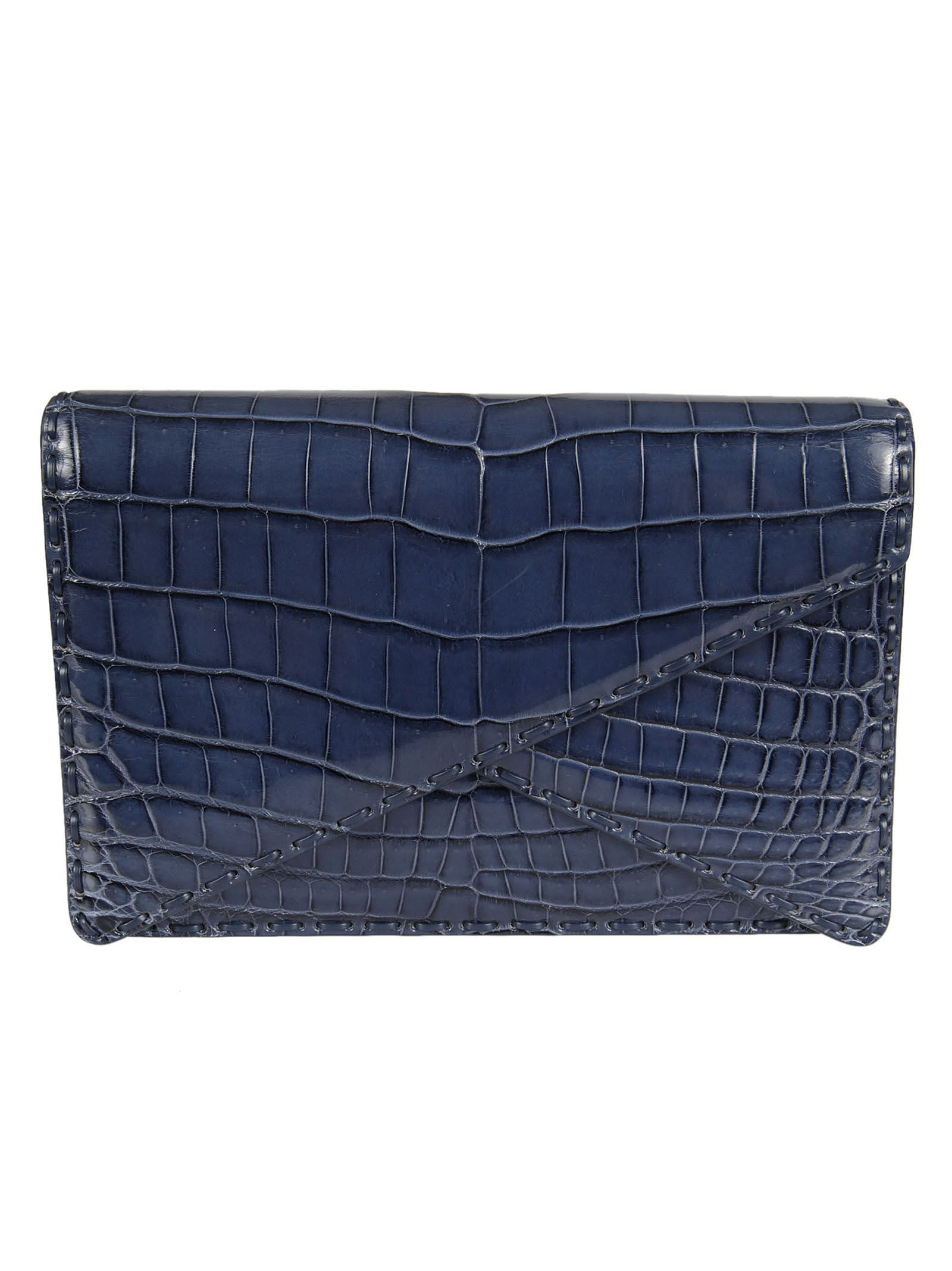 Bottega Veneta Leather Clutch