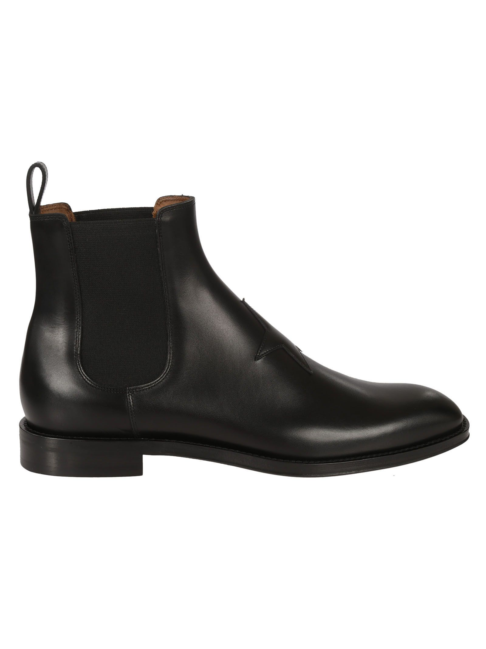 Givenchy Star Patch Chelsea Ankle Boots