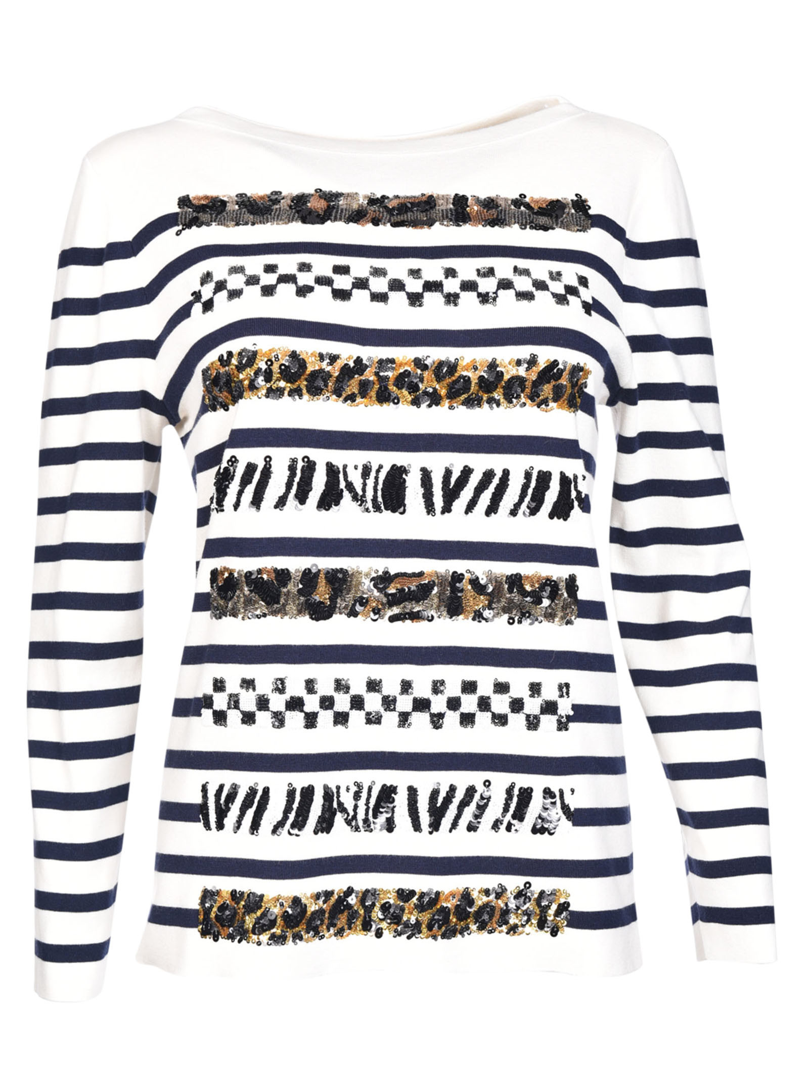 marc jacobs female marc jacobs stripe sweater