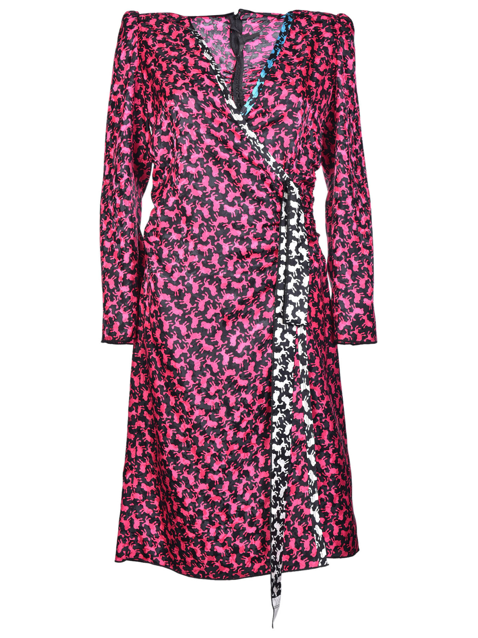 marc jacobs female marc jacobs ruched dress