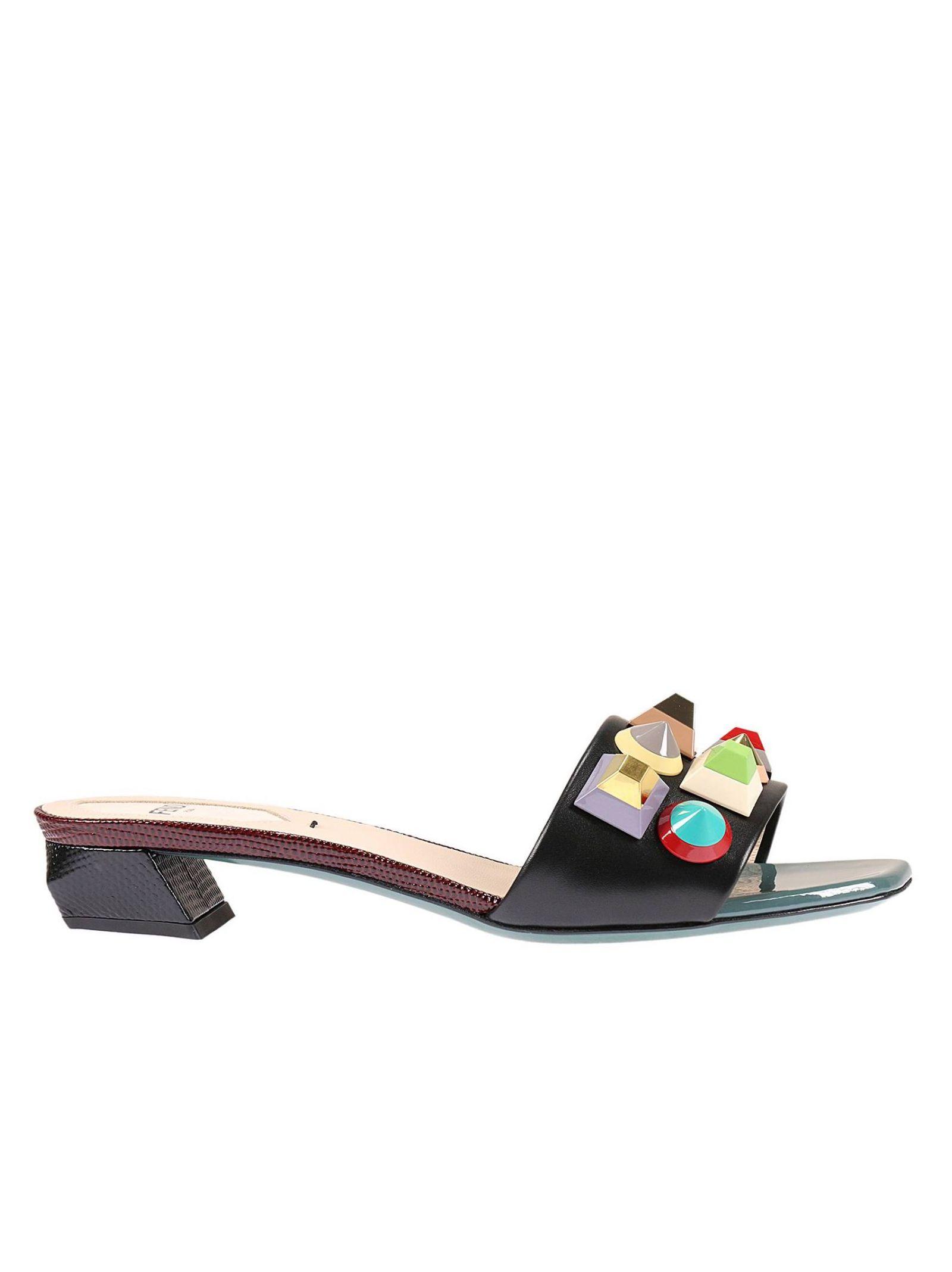 fendi female flat sandals shoes women fendi