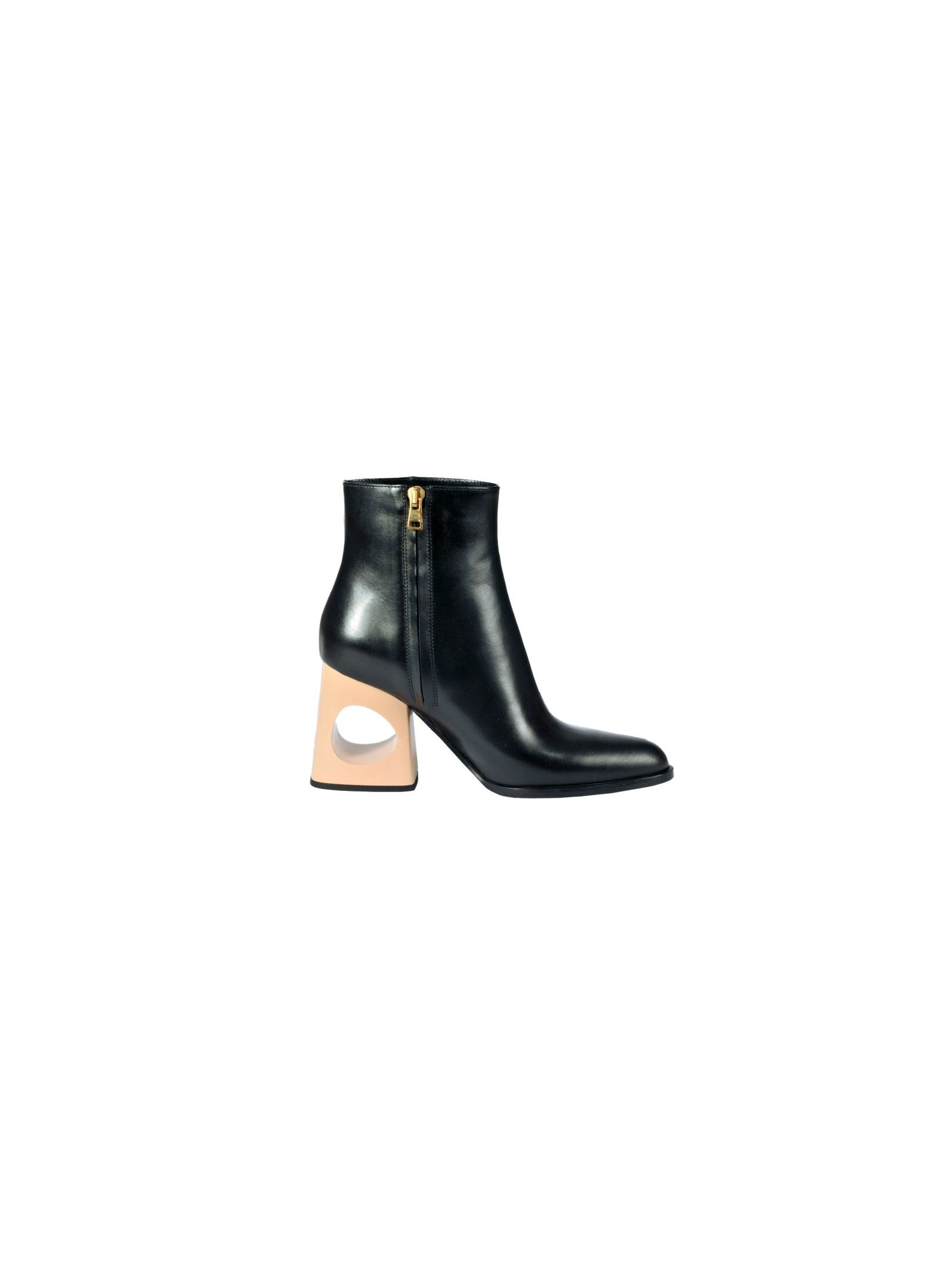 Marni Cut-out Heel Ankle Boots - Marni - Home