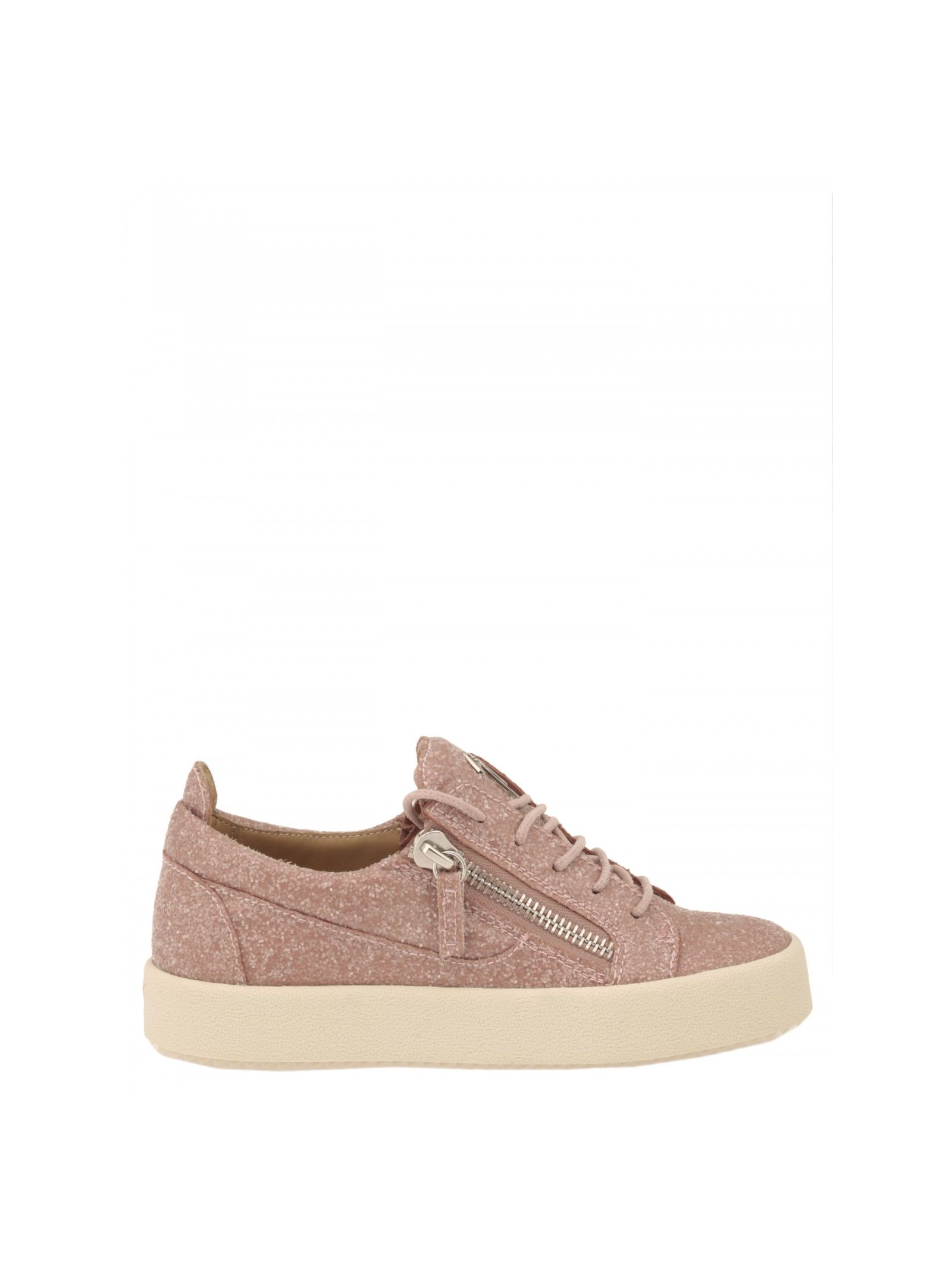 giuseppe zanotti female giuseppe zanotti design glitter sneakers