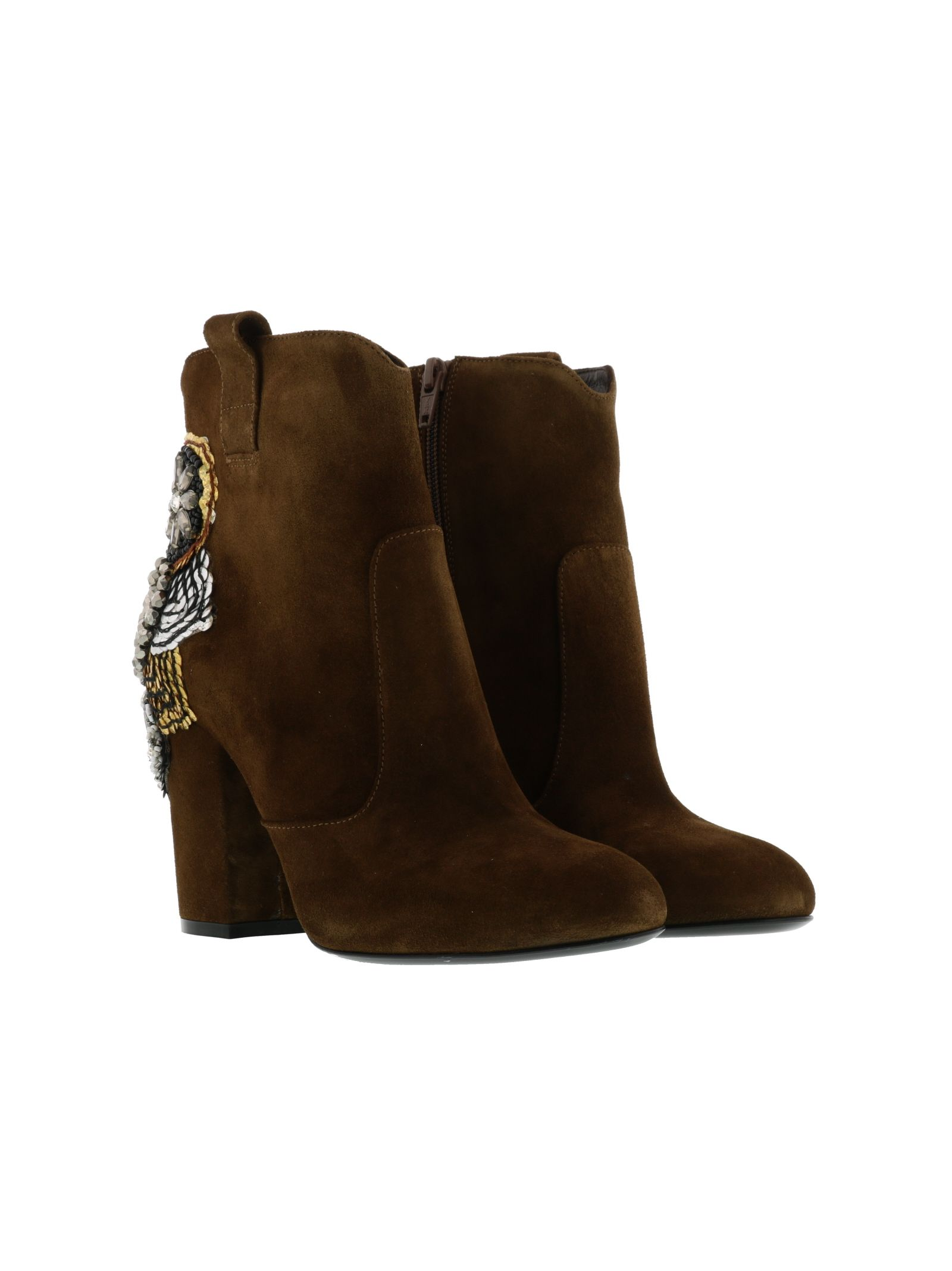 strategia female strategia velour ankle boots