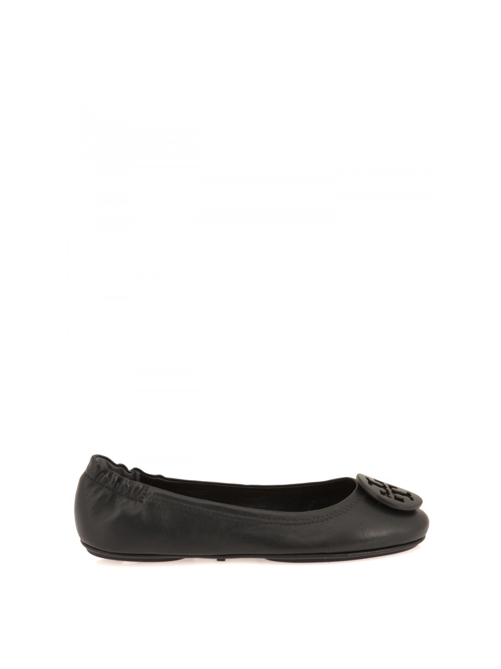 tory burch female tory burch leather ballet flats