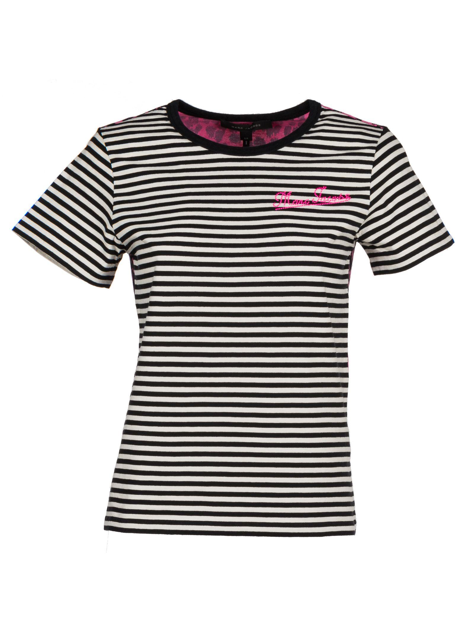 marc jacobs female marc jacobs stripes tshirt