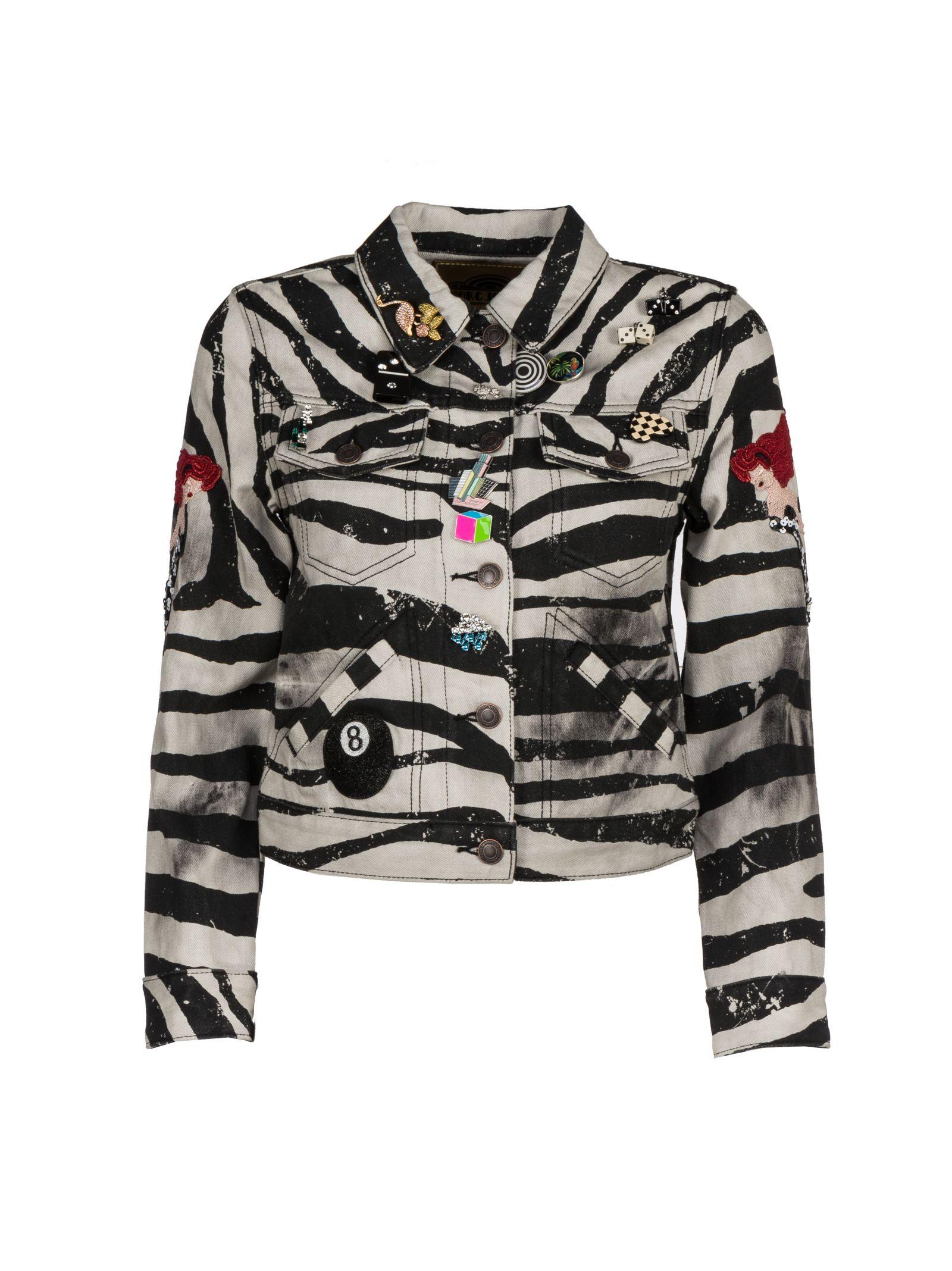 marc jacobs female marc jacobs zebrin jacket
