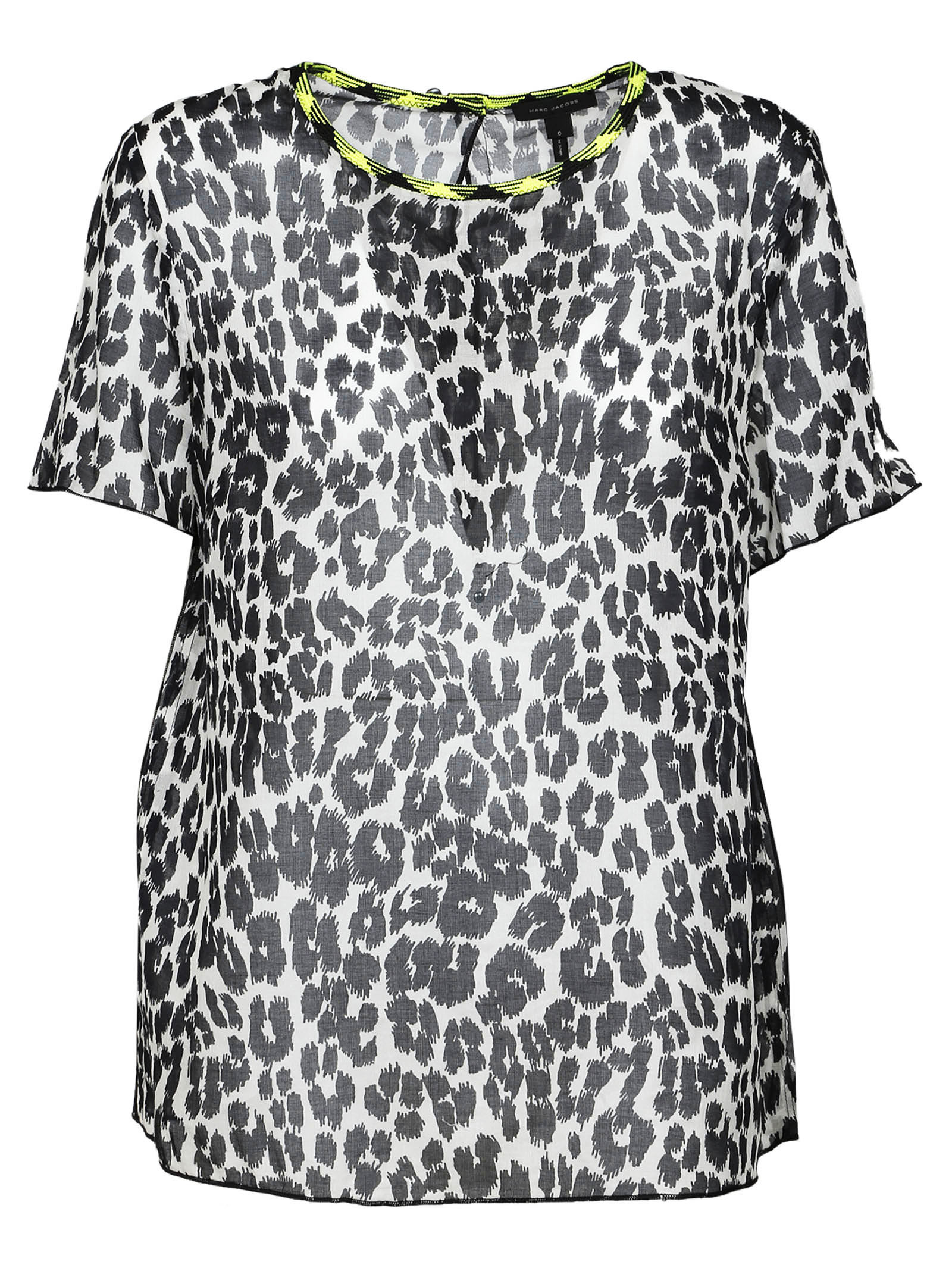 marc jacobs female marc jacobs leopard print top