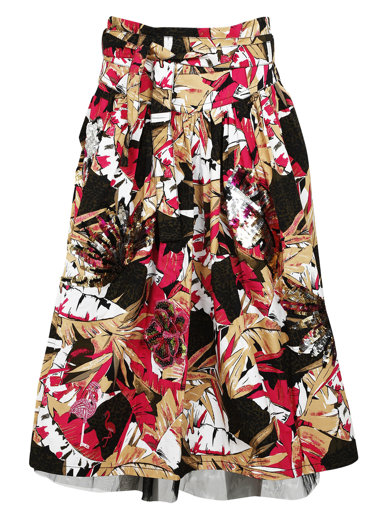 marc jacobs female marc jacobs daisy belted skirt