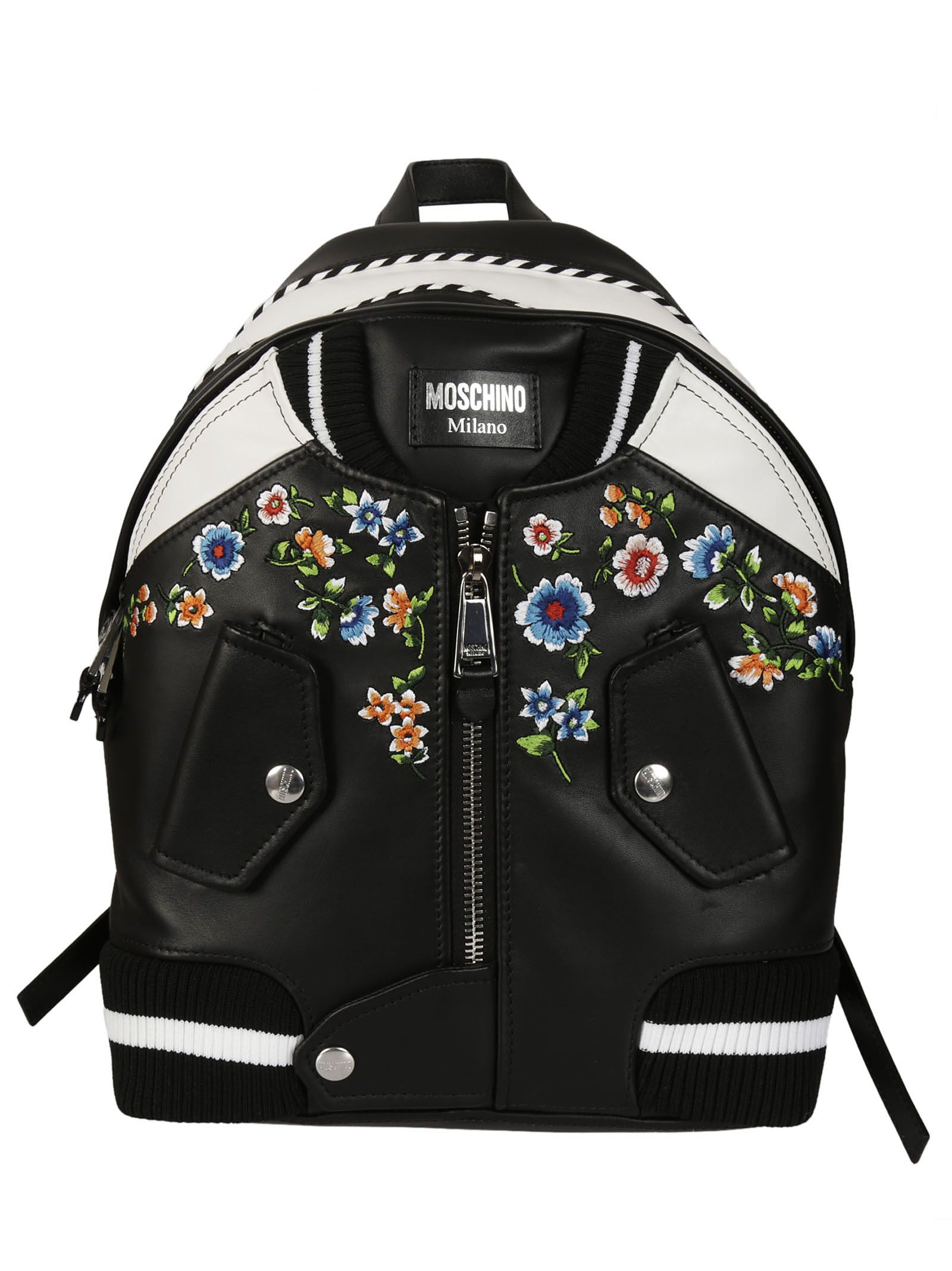 moschino female moschino bomber backpack