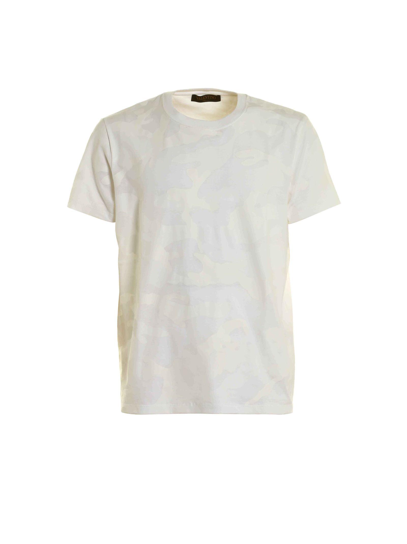 Valentino T-shirt Camuflage
