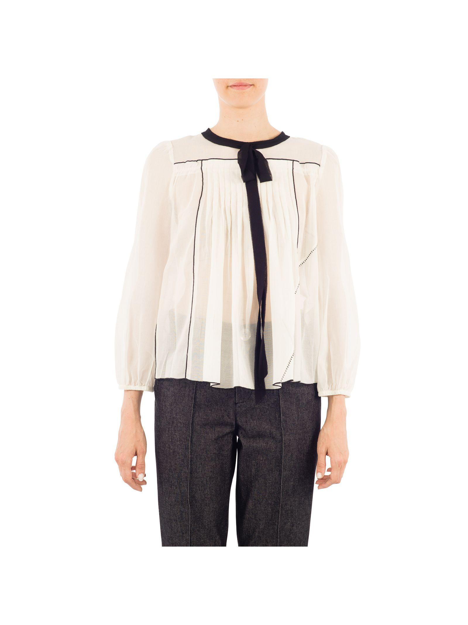 marc jacobs female marc jacobs white cotton shirt
