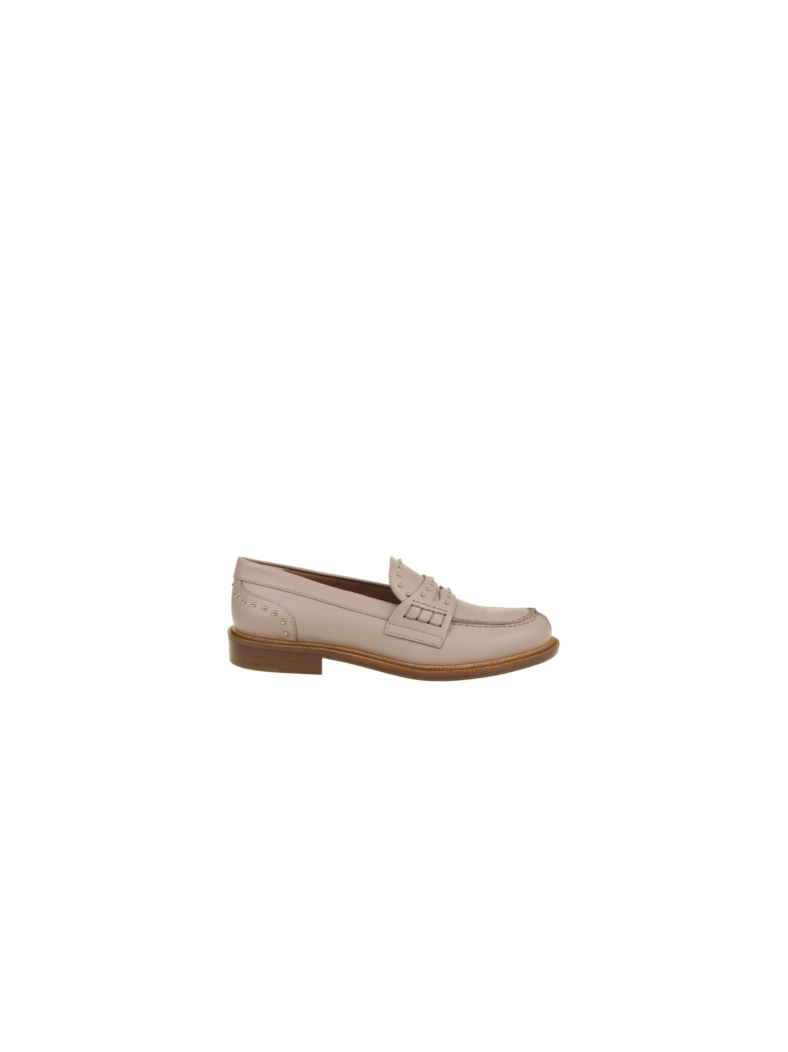 red valentino female red valentinoloafer in pink leather
