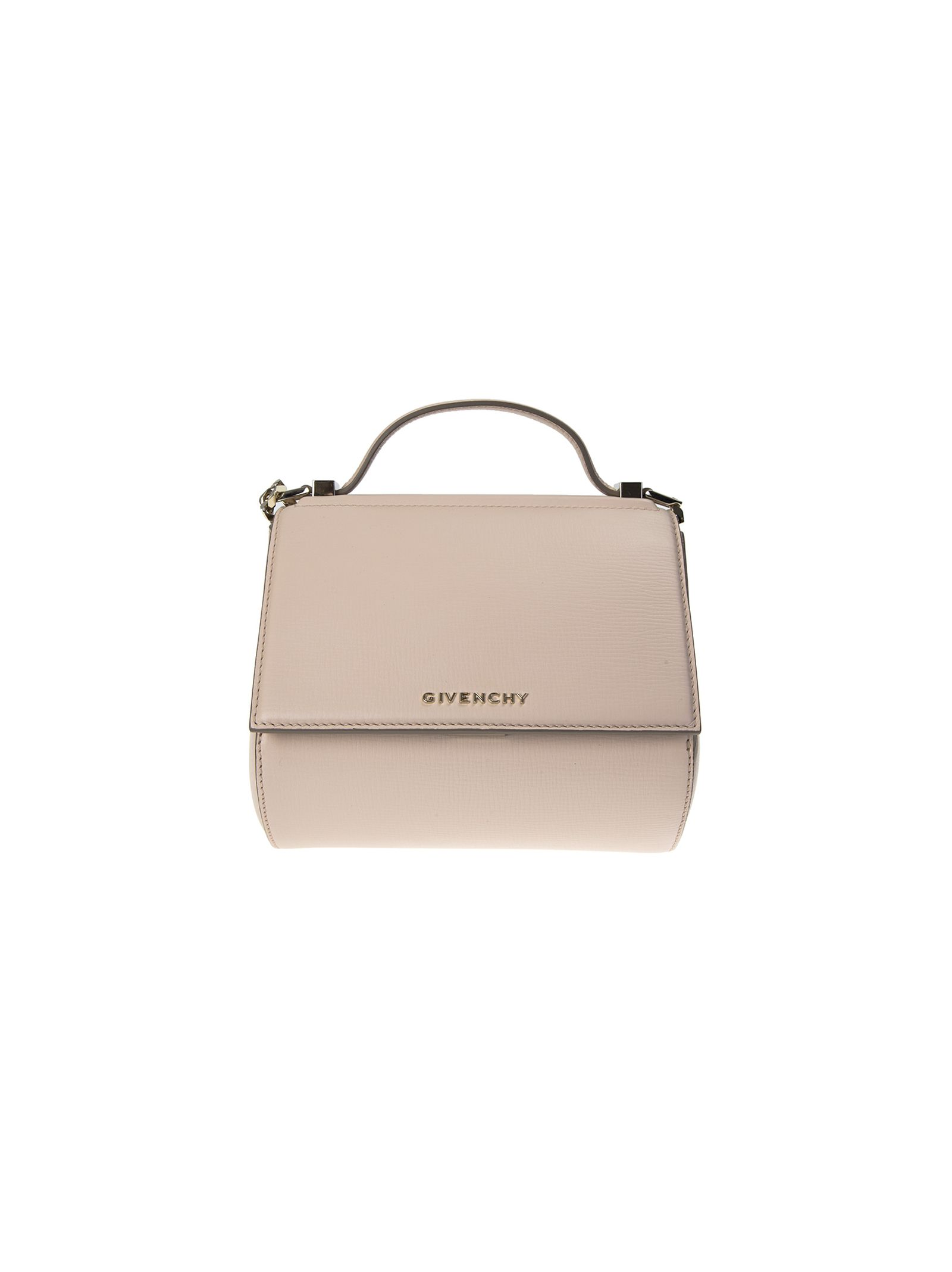 givenchy female pandora box chain pink leather shoulder bag