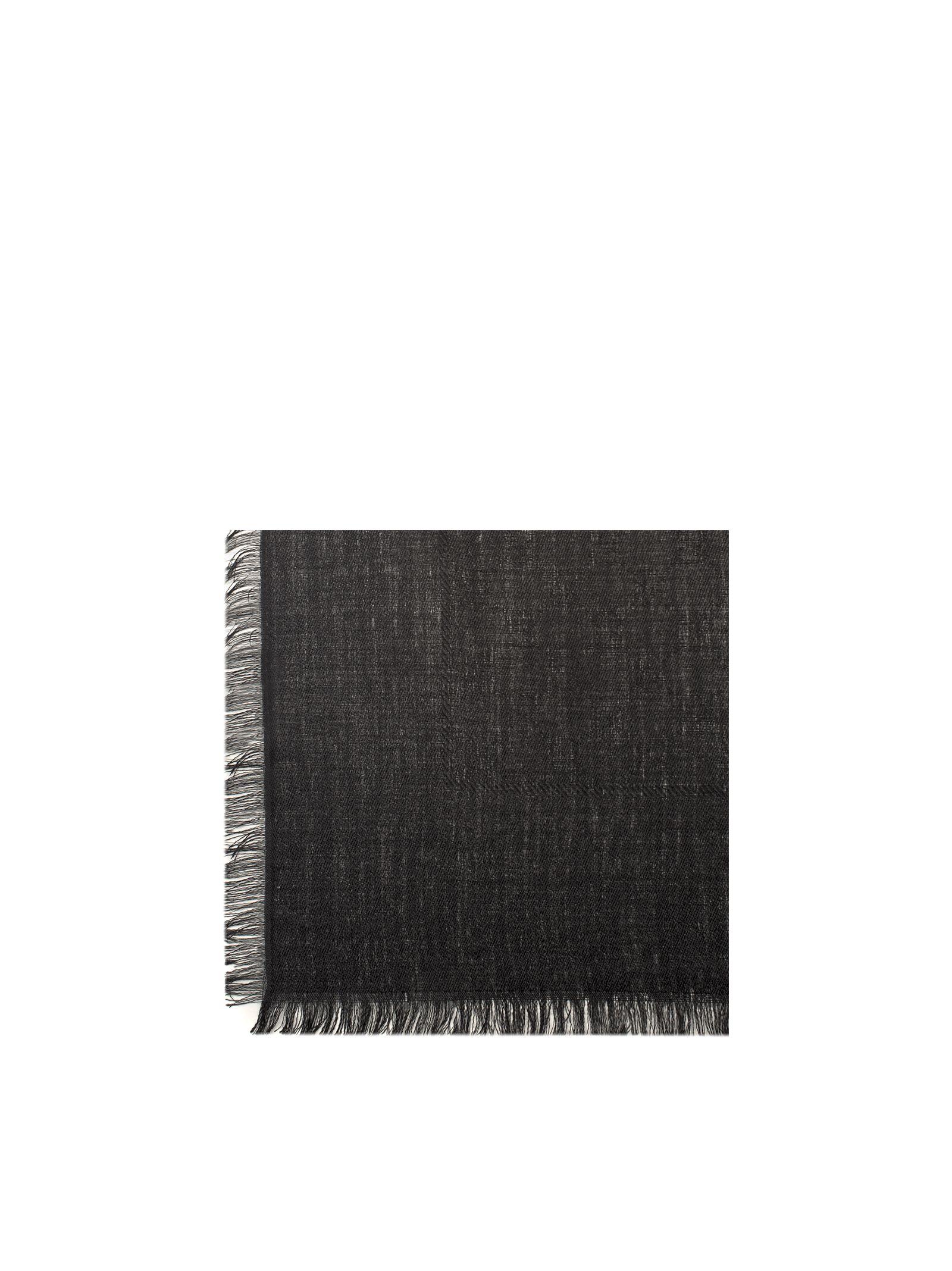 gucci female black ghili scarf