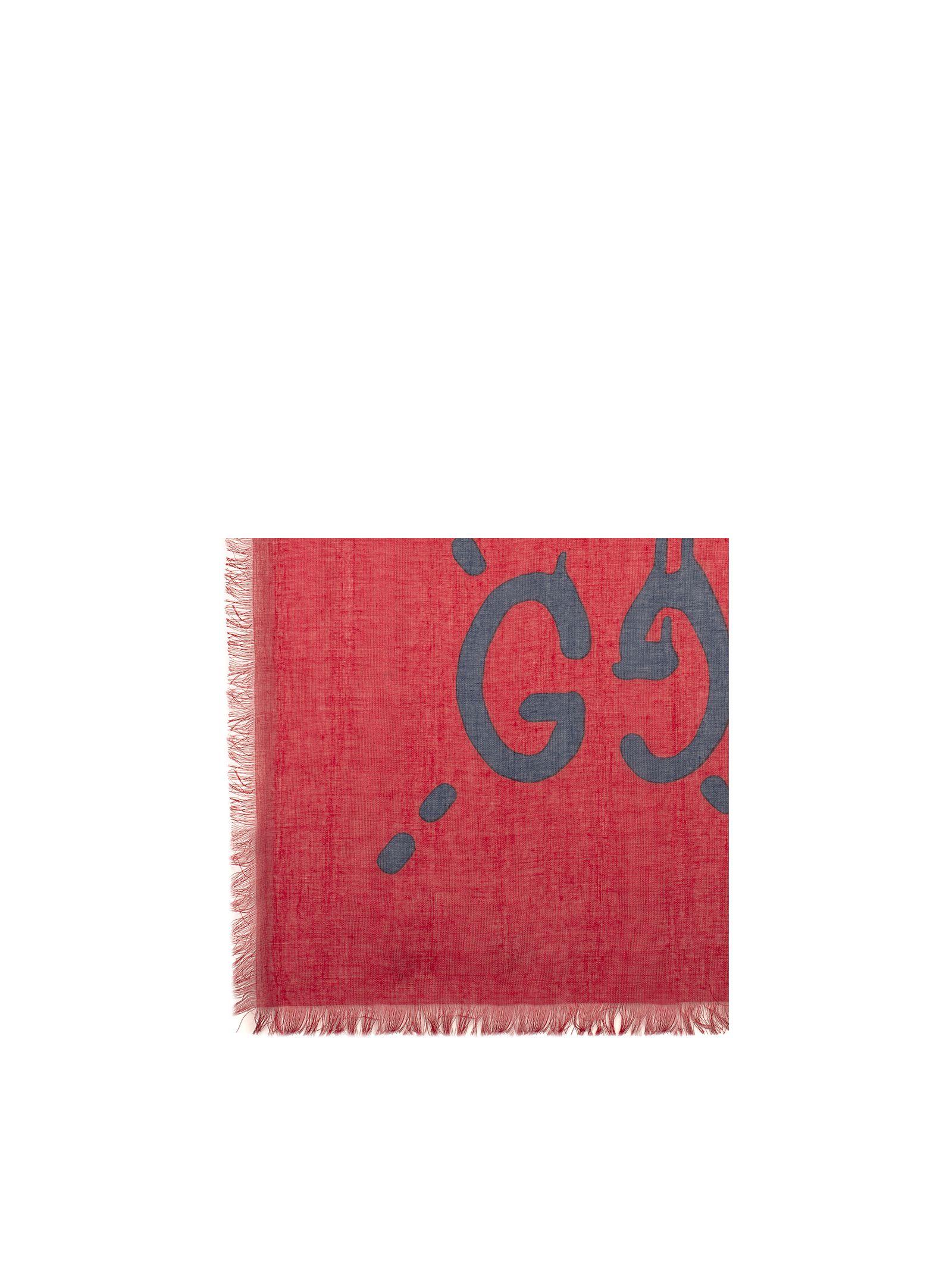 gucci male redblue gucci ghost scarf