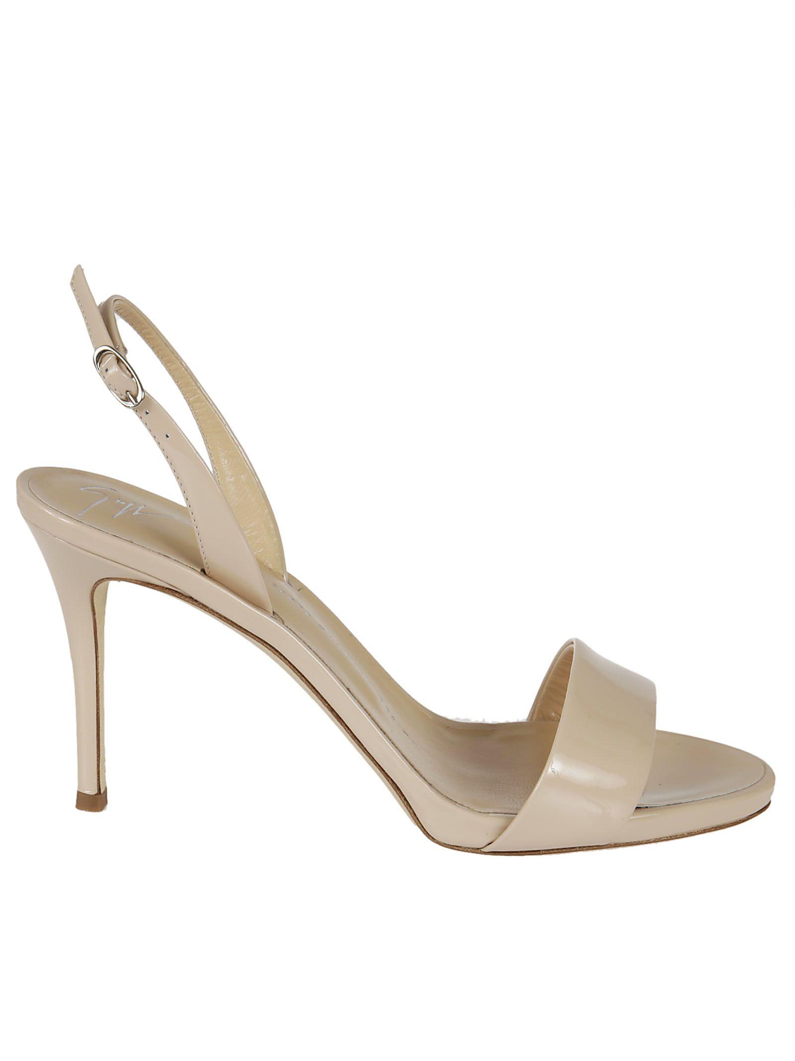 giuseppe zanotti female giuseppe zanotti leather sandals