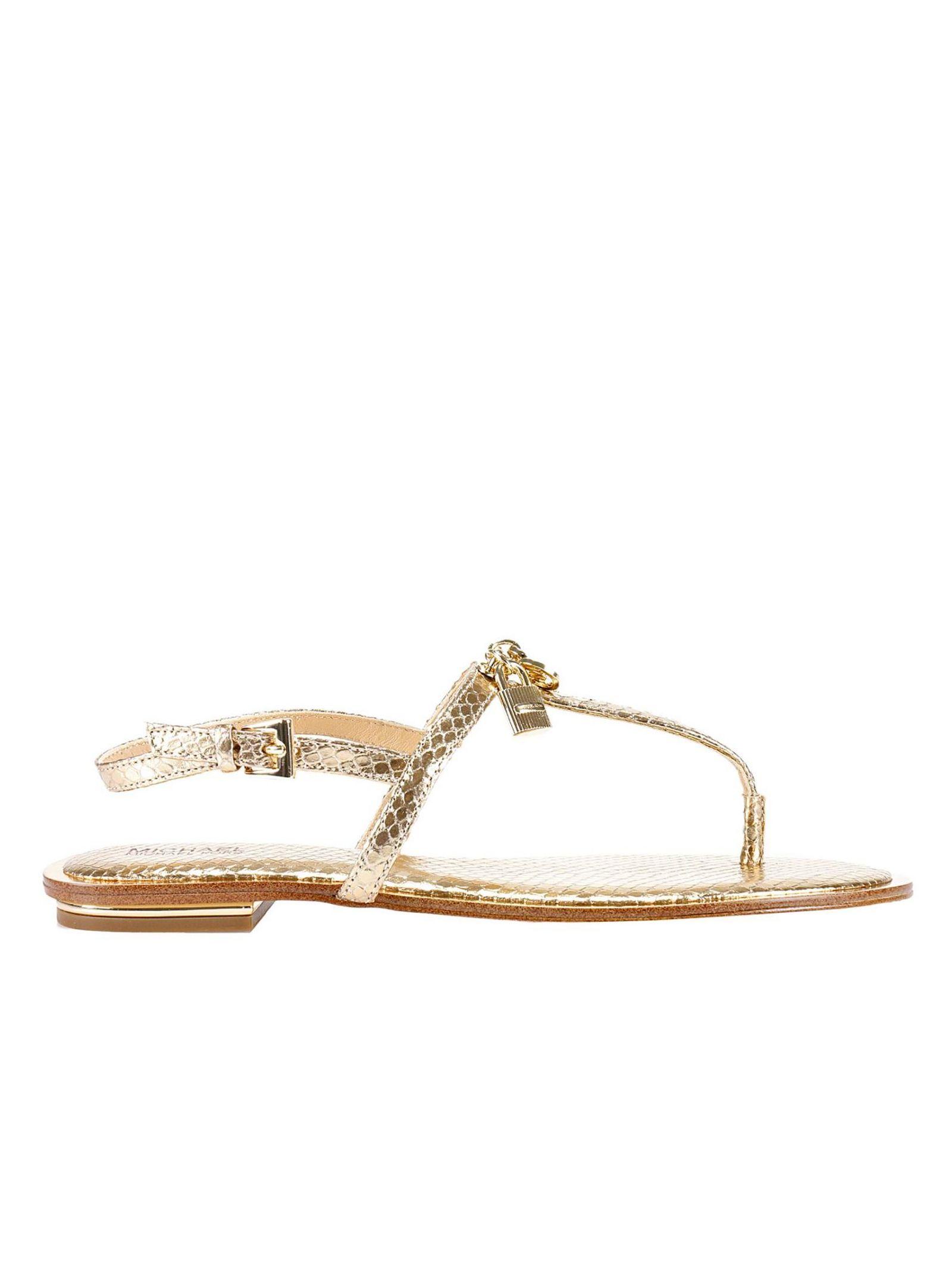 michael michael kors female flat sandals shoes women michael michael kors
